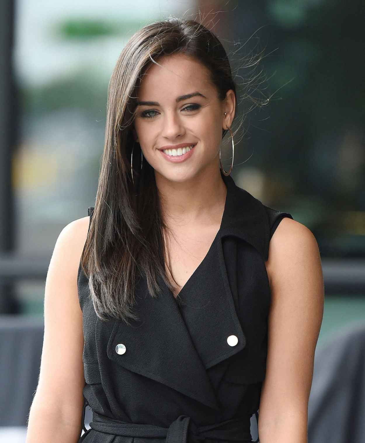 Georgia May Foote - BBC Breakfast in London, August 2015-3