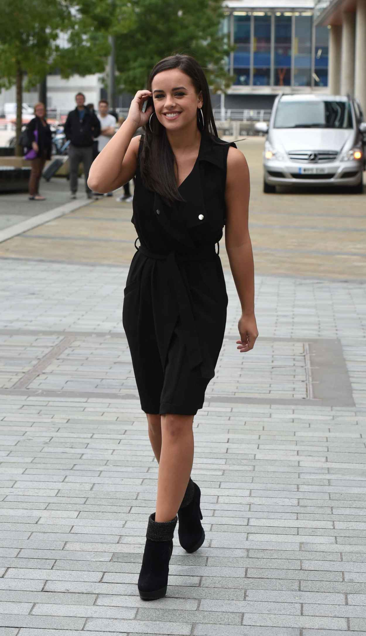 Georgia May Foote - BBC Breakfast in London, August 2015-4