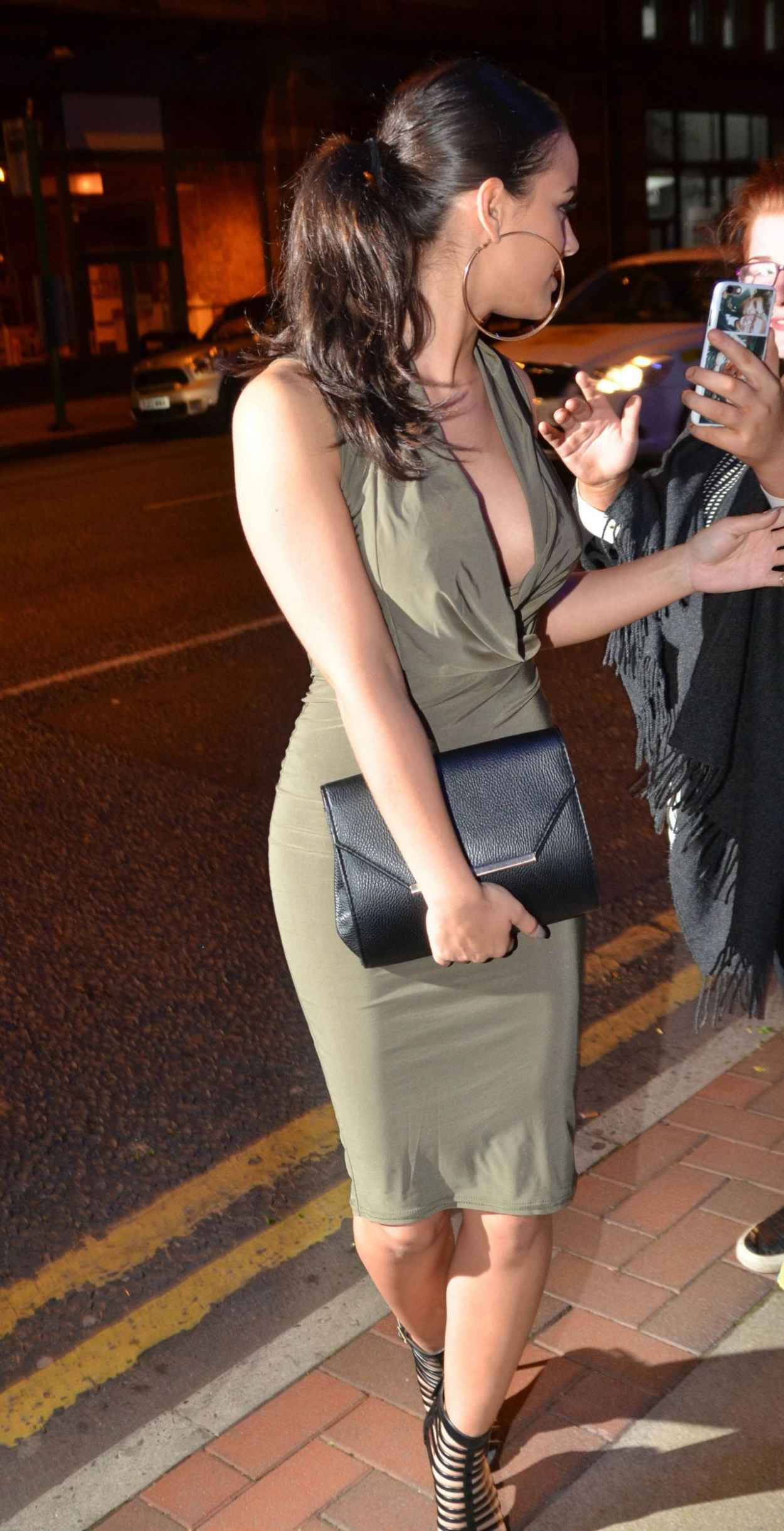 Georgia May Foote Night Out Style - The Milton Club in Manchester, May 2015-4