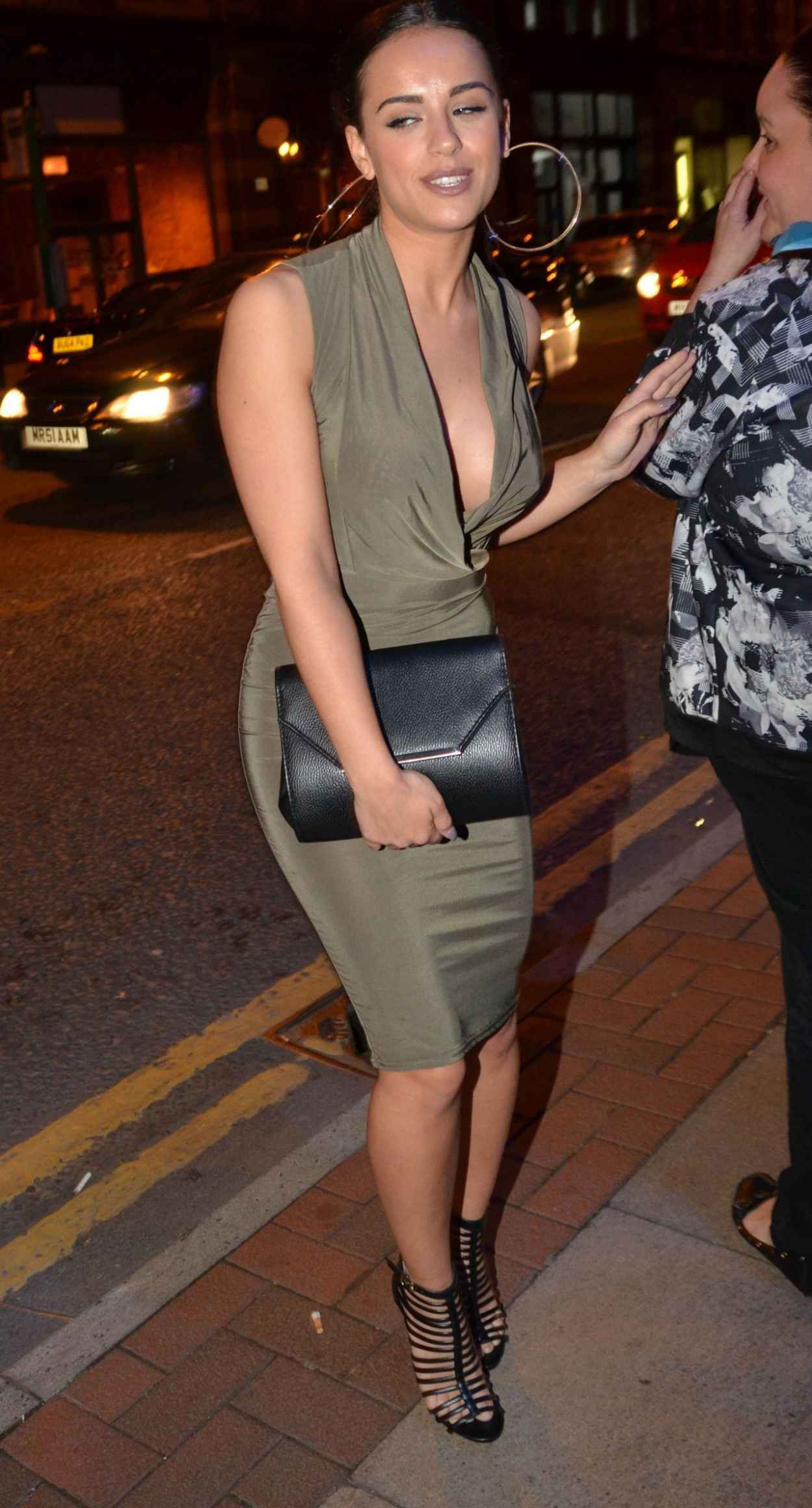 Georgia May Foote Night Out Style - The Milton Club in Manchester, May 2015-5