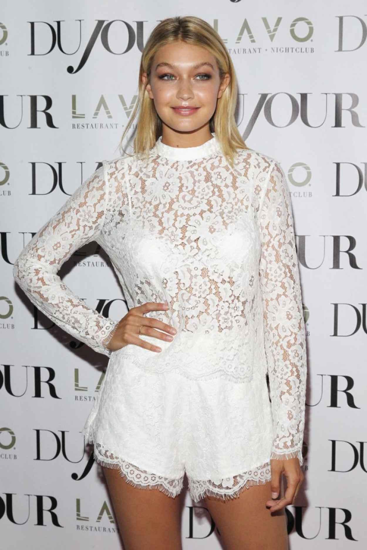 Gigi Hadid - DuJour Magazine Celebrating Kendall and Kylies Bruce Weber Shoot-1
