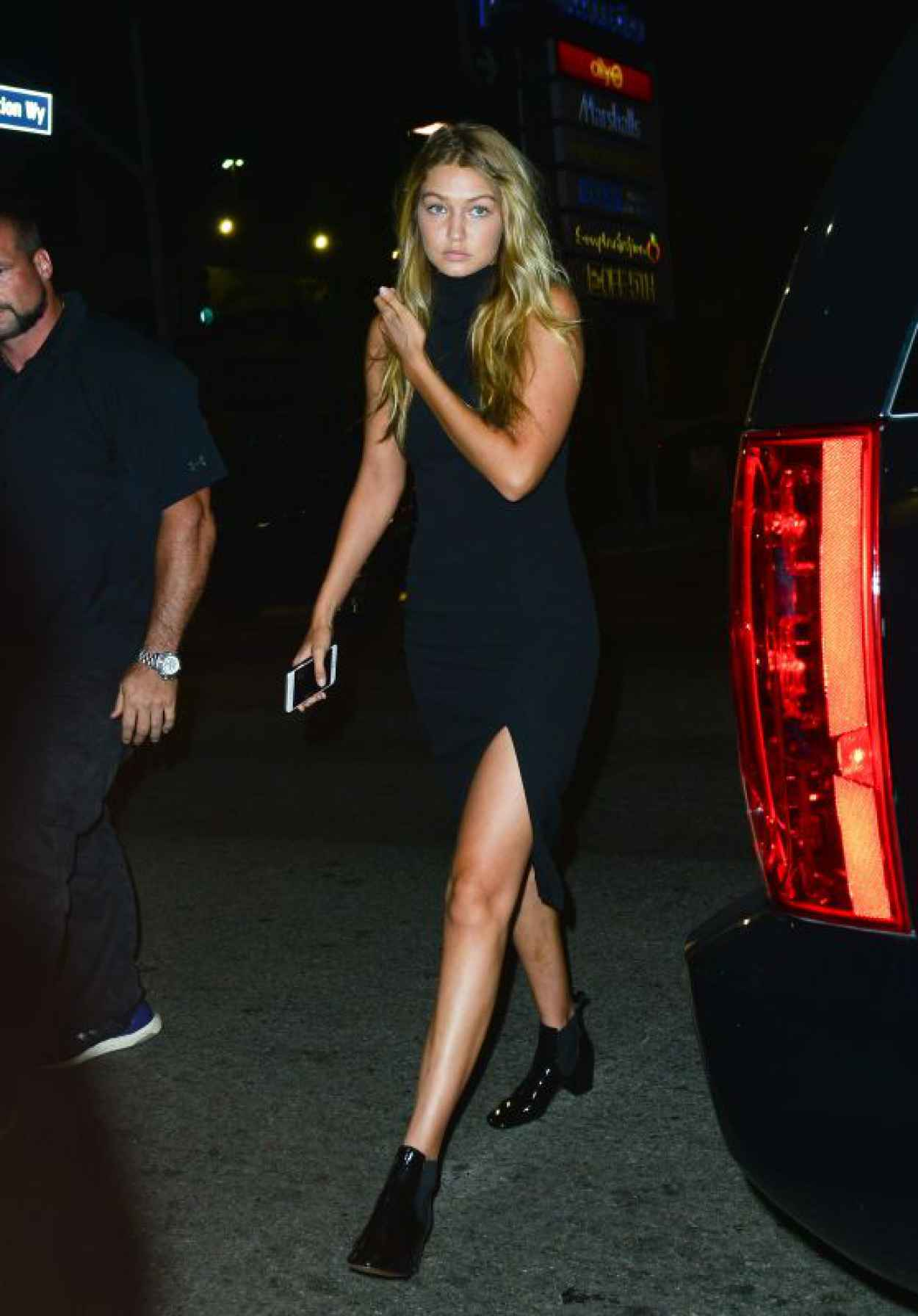 Gigi Hadid - Out in Hollywood, August 2015-1
