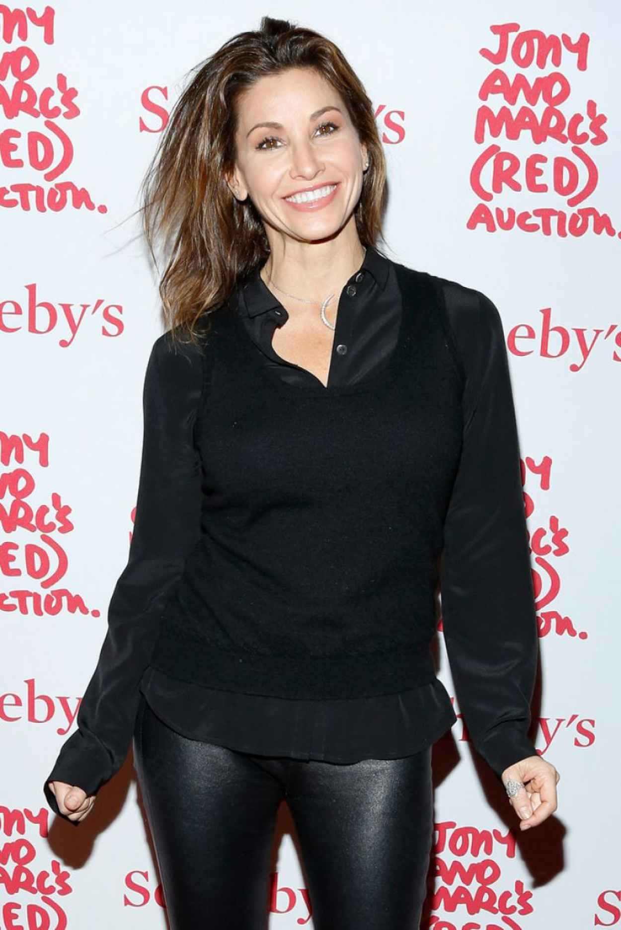 Gina Gershon at Jony & Marcs (RED) Auction in New York City-1
