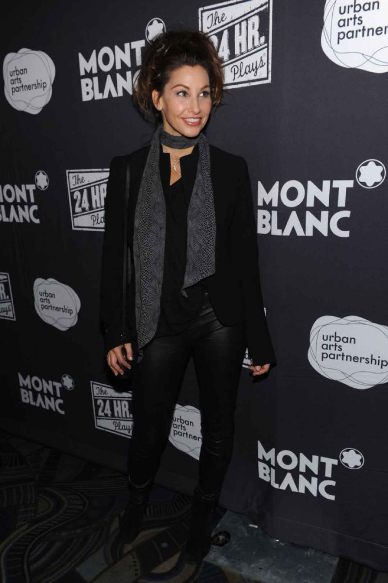 Gina Gershon Photos From The 13th Annual 24 Hour Plays On Broadway After Party New York City-1