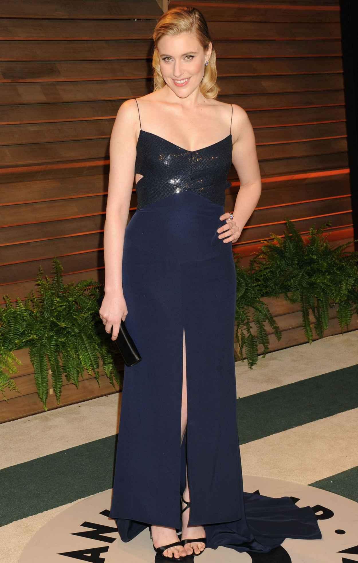Greta Gerwig - 2015 Vanity Fair Oscar Party-1