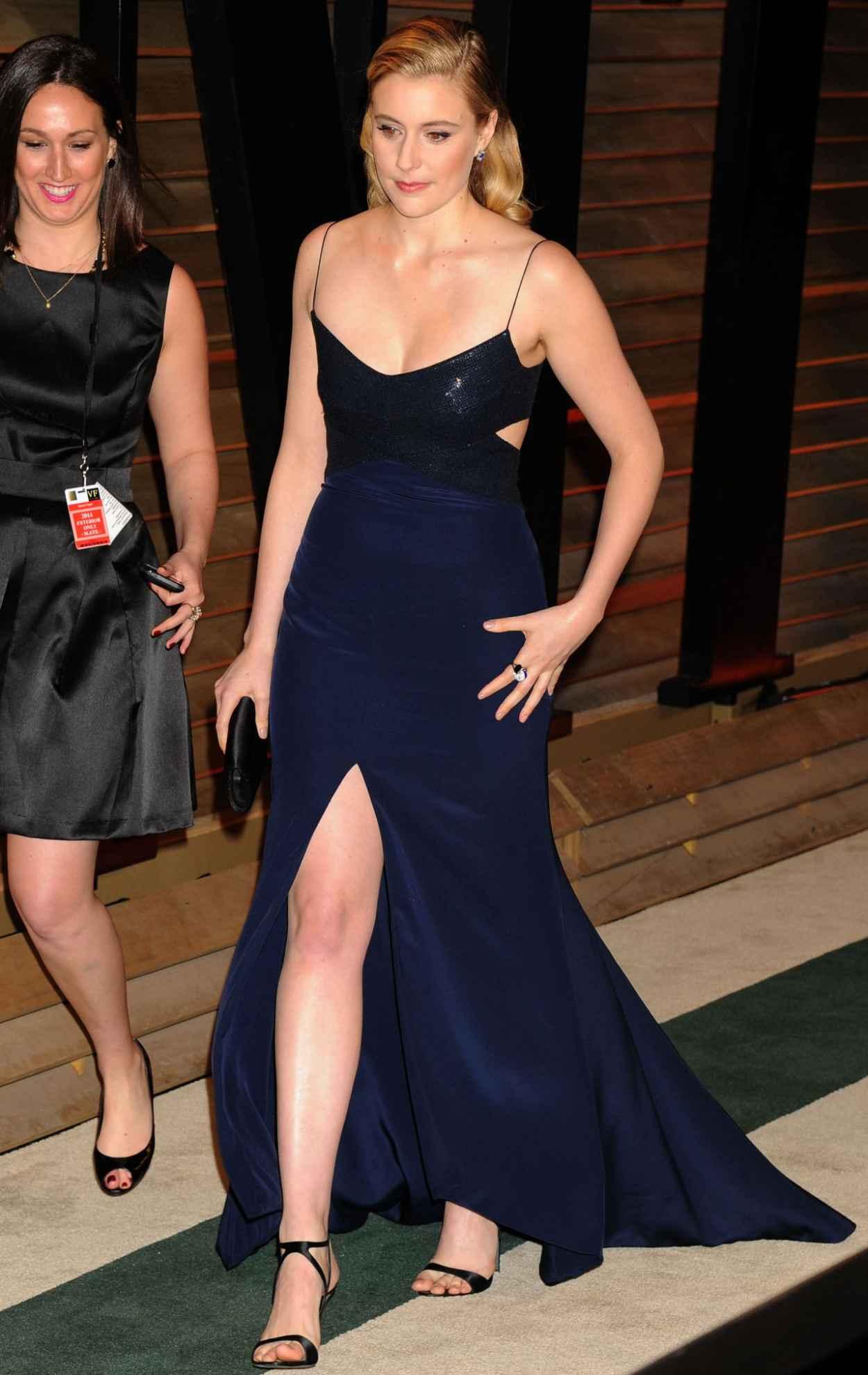 Greta Gerwig - 2015 Vanity Fair Oscar Party-2
