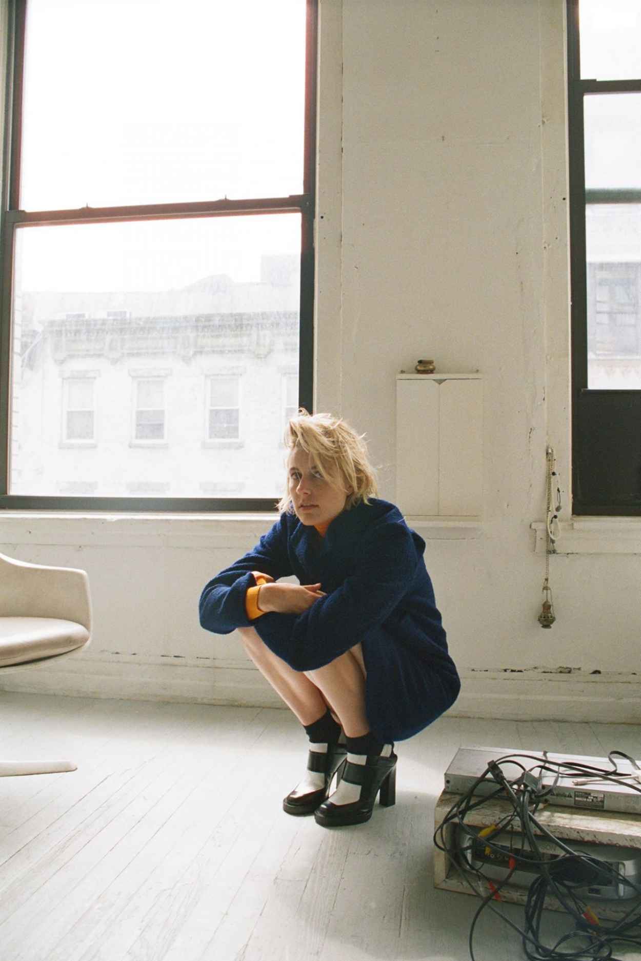 Greta Gerwig - Photoshoot for Dazed Magazine September 2015-2