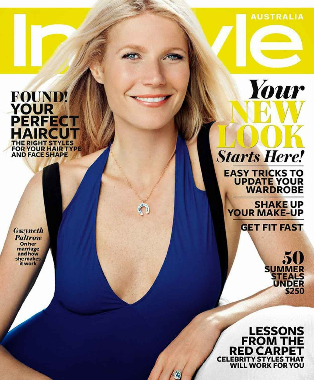 Gwyneth Paltrow - INSTYLE Magazine (Australia) - January 2015 Cover-1