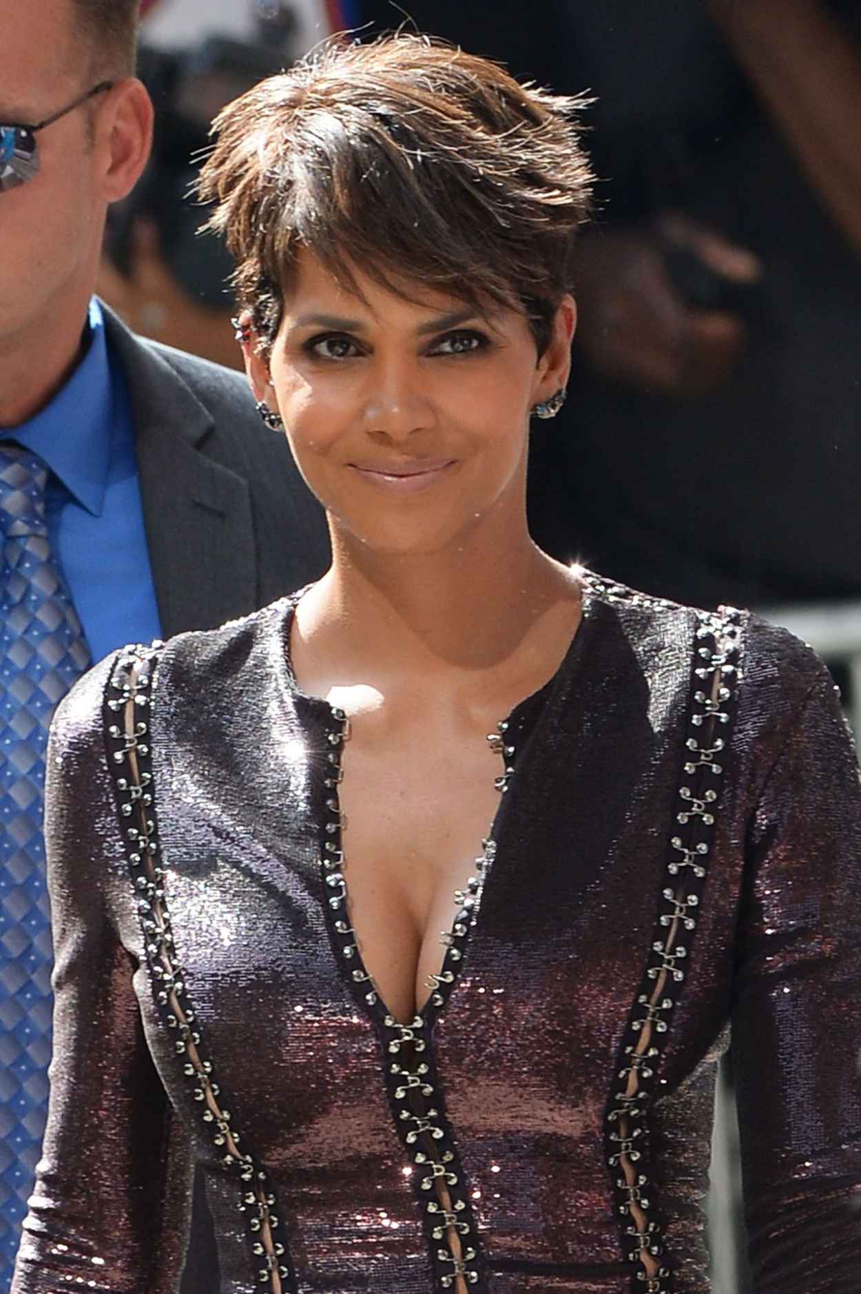 Halle Berry at The Late Show With David Letterman in New York City - July 2015-1