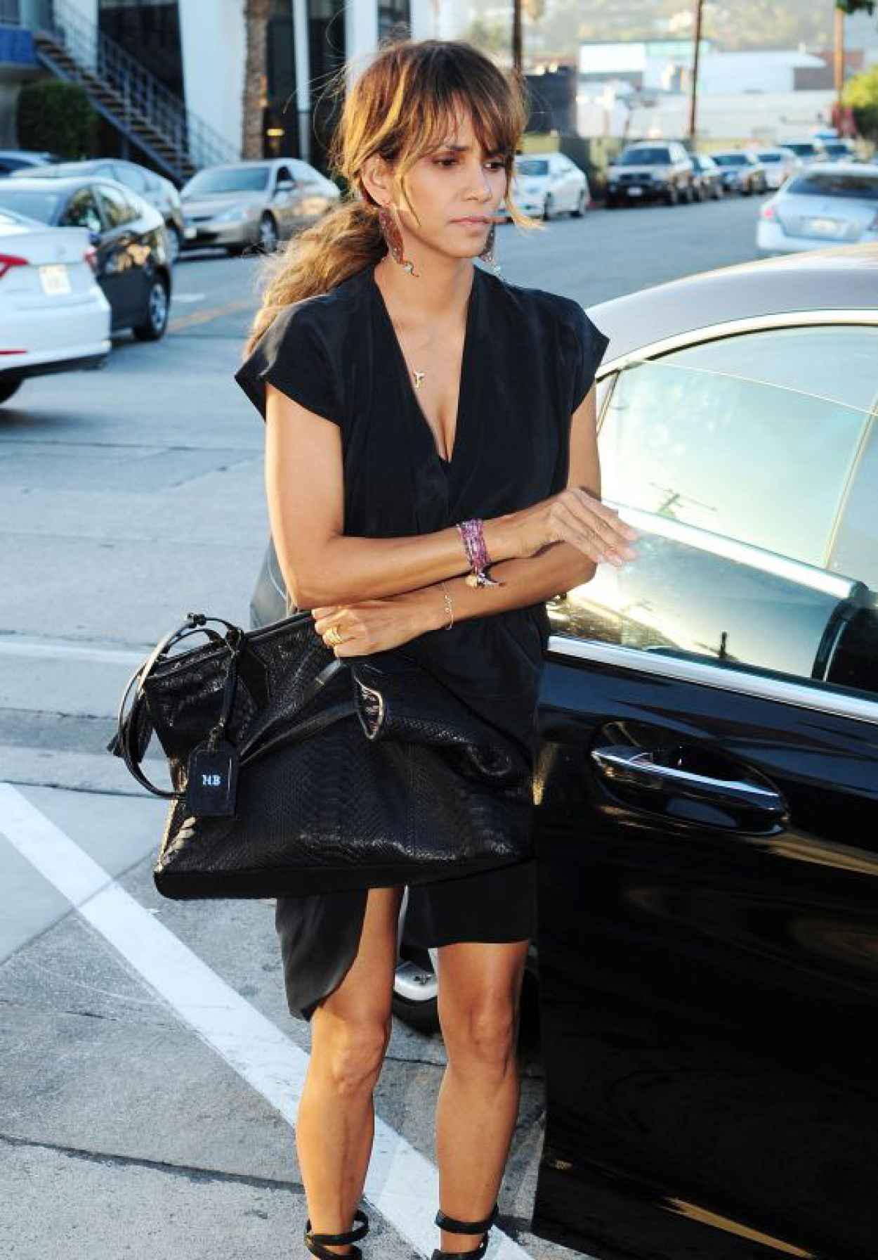 Halle Berry - Craigs Restaurant in West Hollywood, August 2015-1