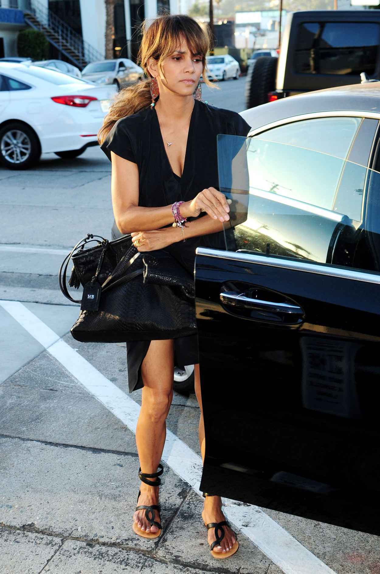 Halle Berry - Craigs Restaurant in West Hollywood, August 2015-3