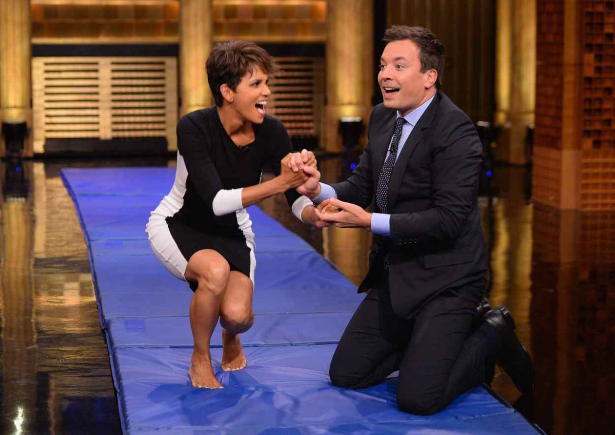 Halle Berry - The Tonight Show Starring Jimmy Fallon Late-Night Talk Show - July 2015-1