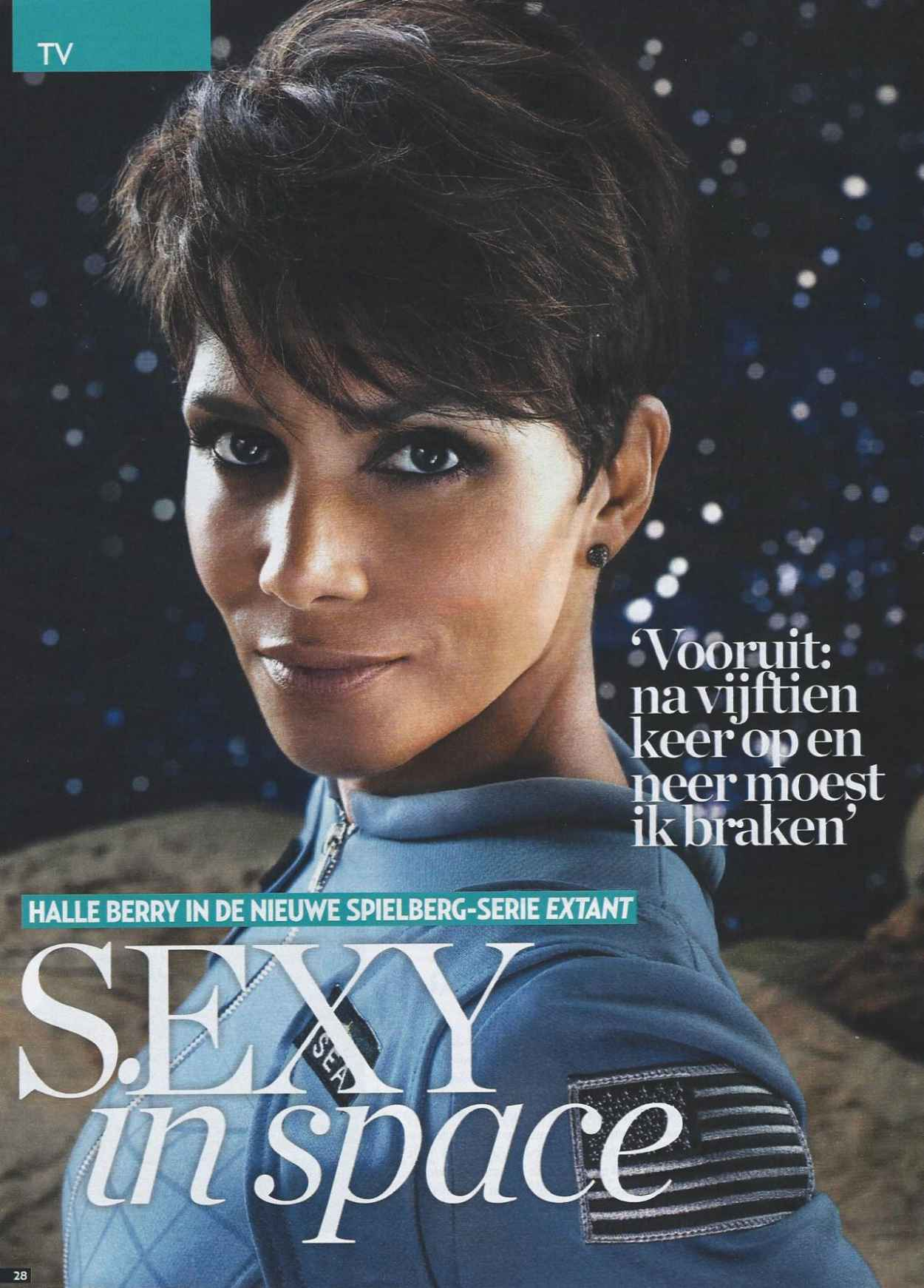 Halle Berry - Veronica TV Magazine - January 2015-1