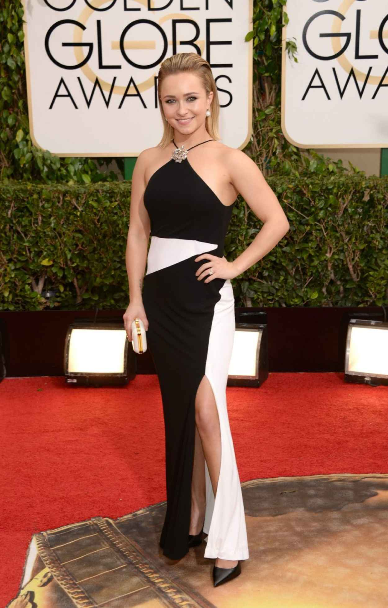 Hayden Panettiere at 71st Annual Golden Globe Awards in Beverly Hills, January 2015-1