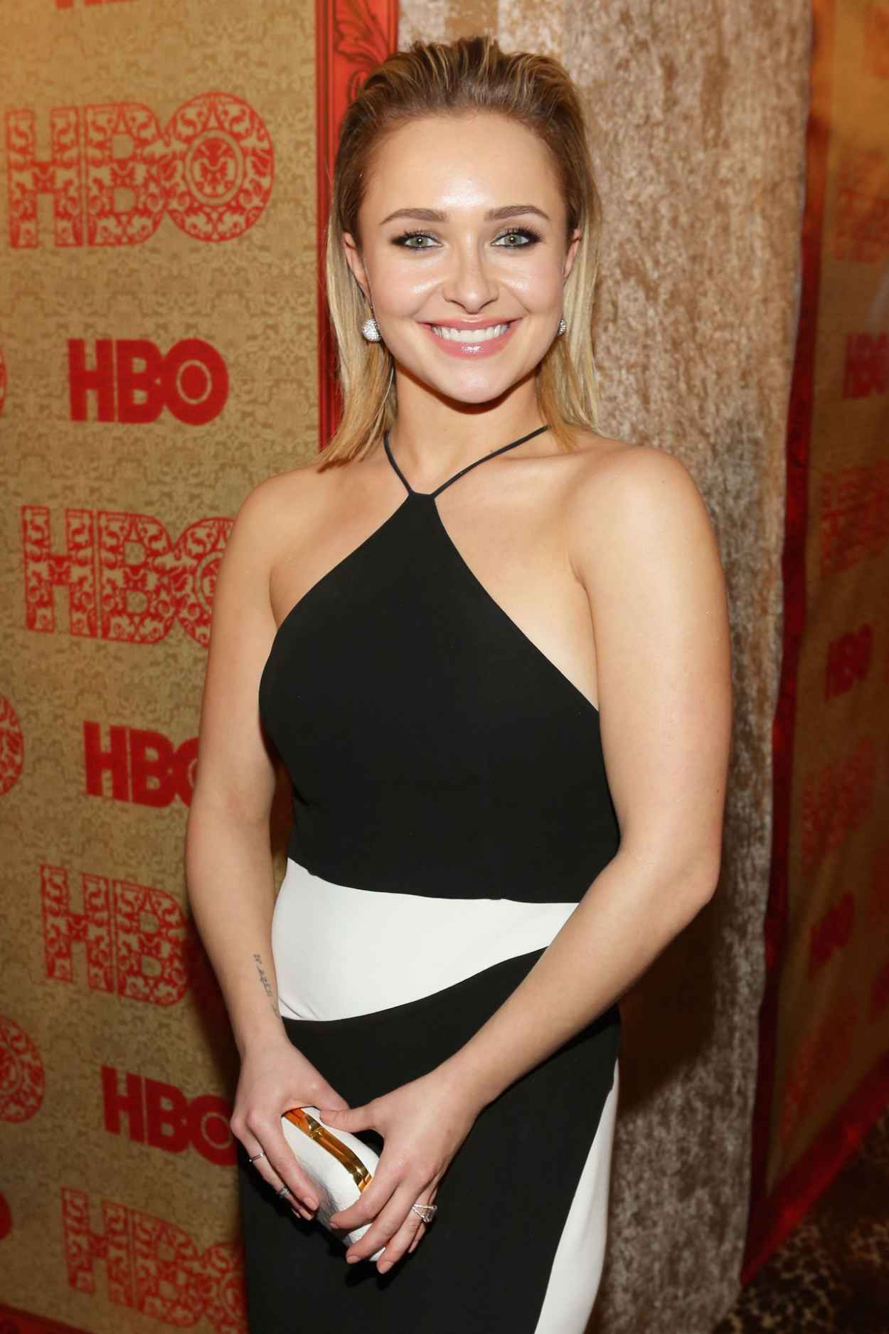 Hayden Panettiere at HBOs 2015 Golden Globe Awards After Party-1