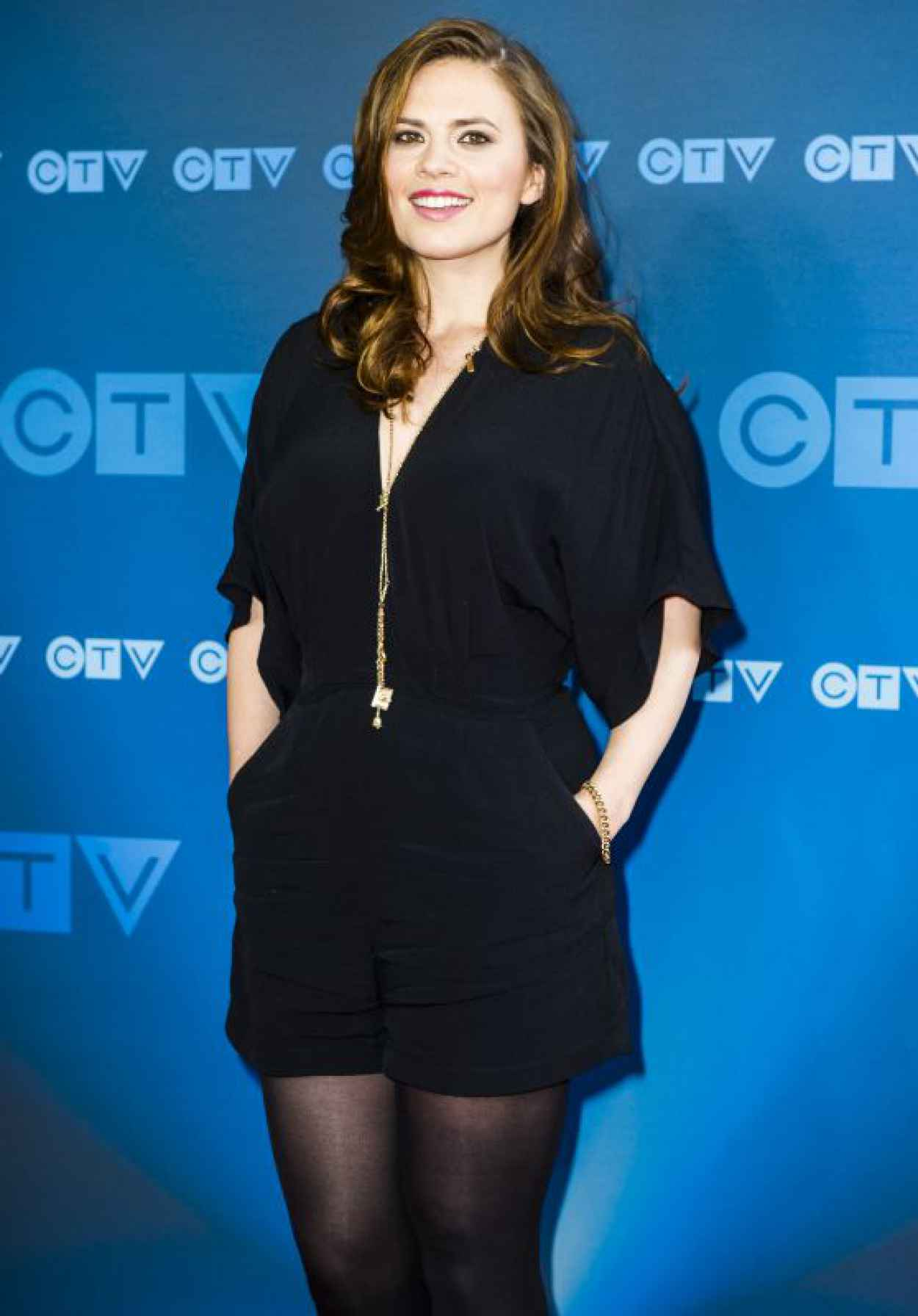 Hayley Atwell - 2015 CTV Upfronts in Toronto-1