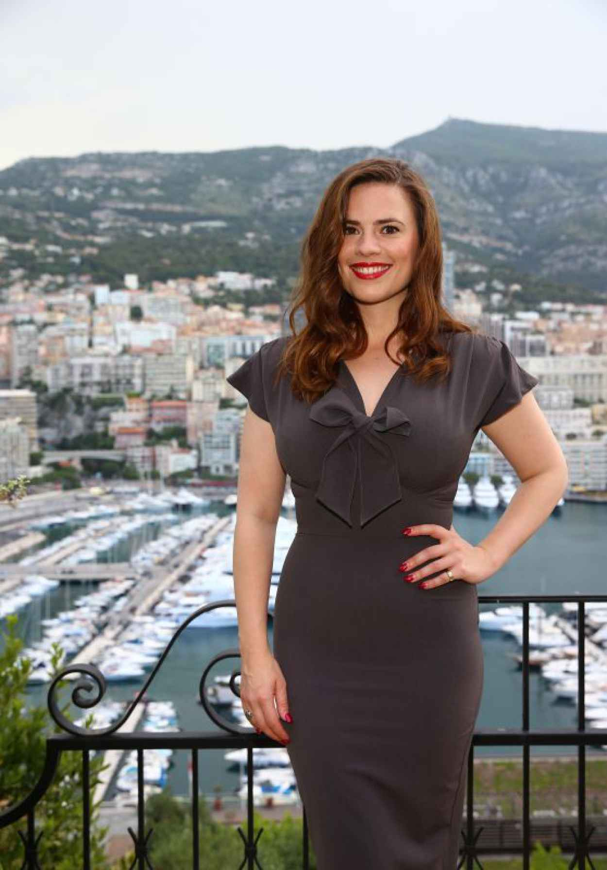 Hayley Atwell - 2015 Monte Carlo Television Festival Cocktail Party in Monaco-1