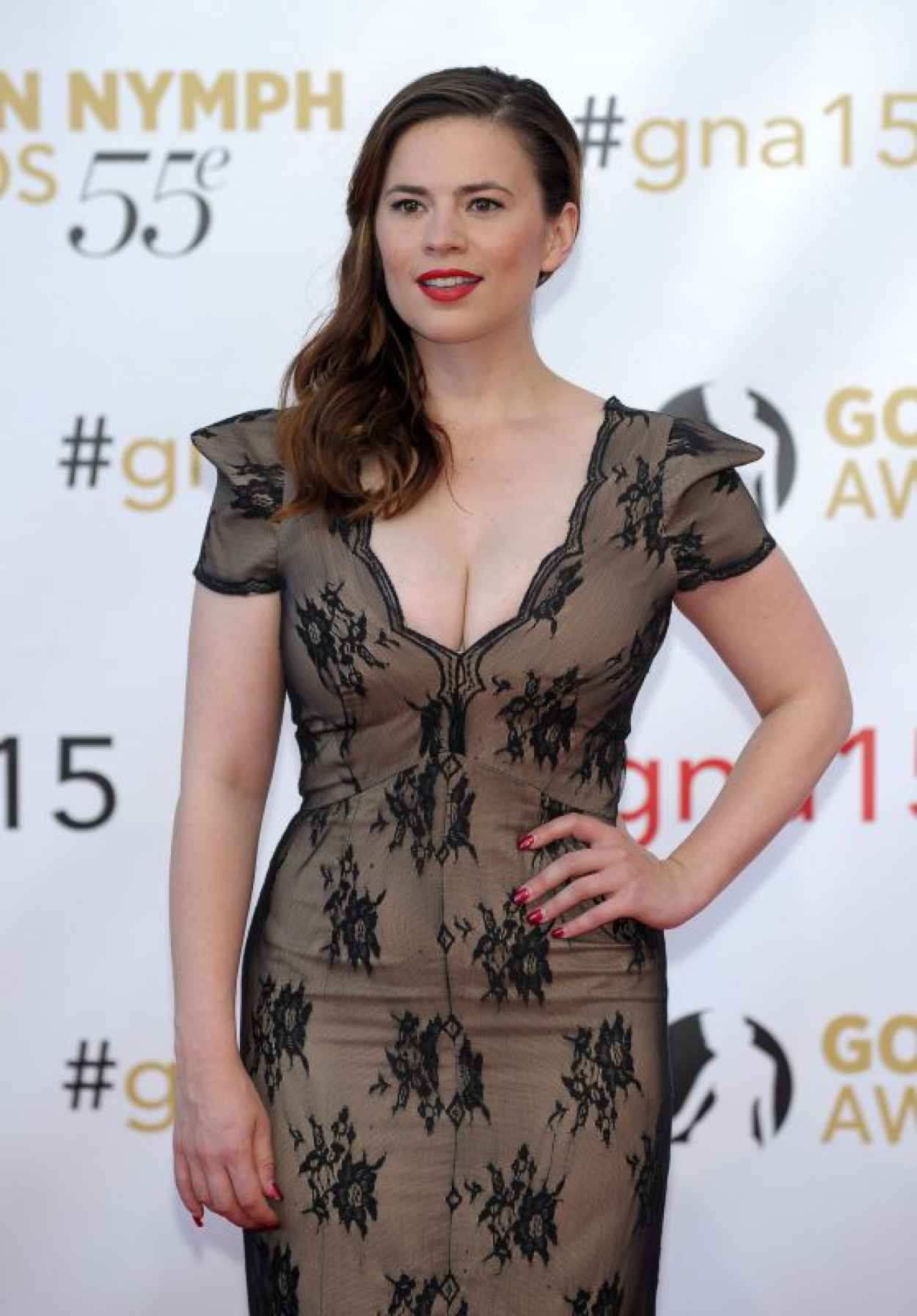 Hayley Atwell - Closing Ceremonies at 55th Monte Carlo TV Festival in Monaco-1