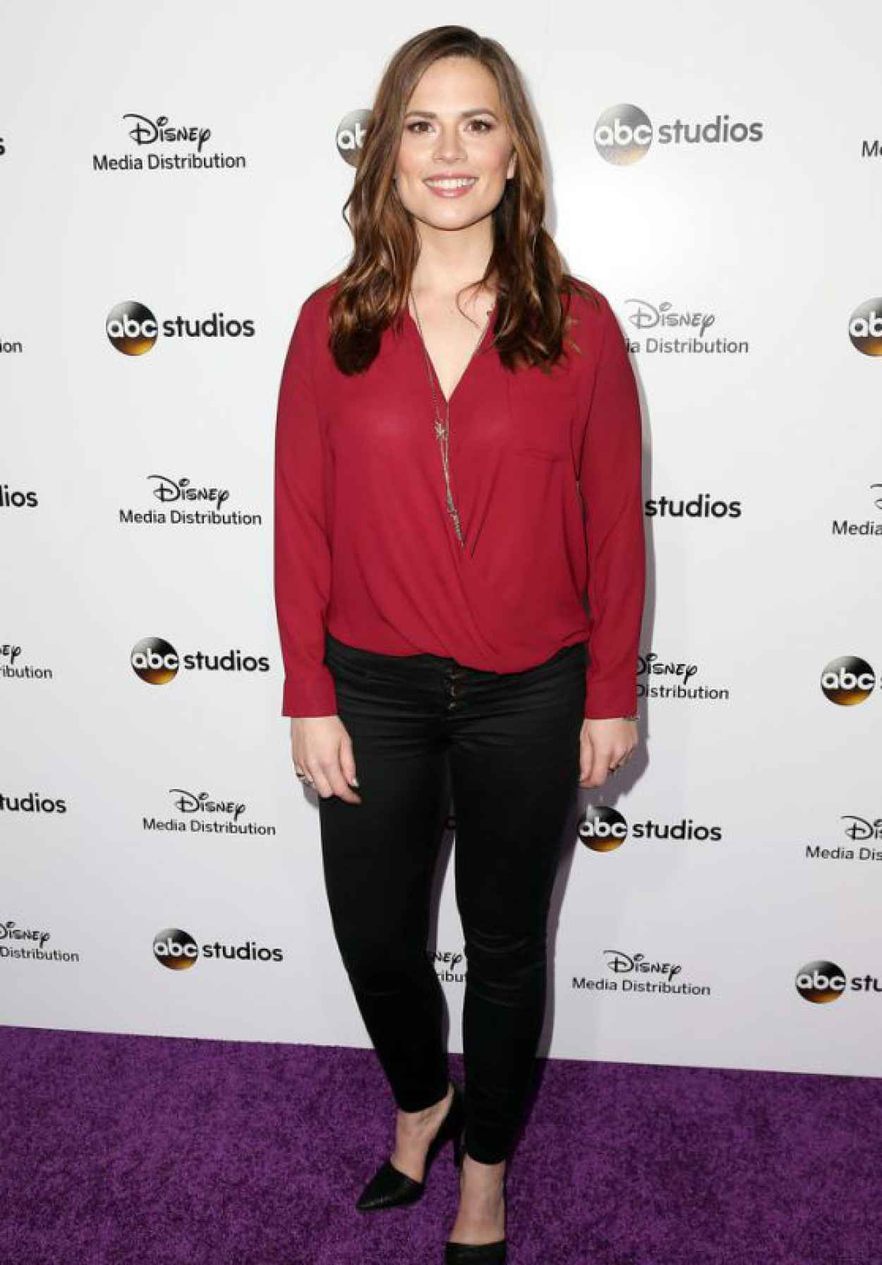 Hayley Atwell - Disney Media Distribution International Upfronts in Burbank, May 2015-1