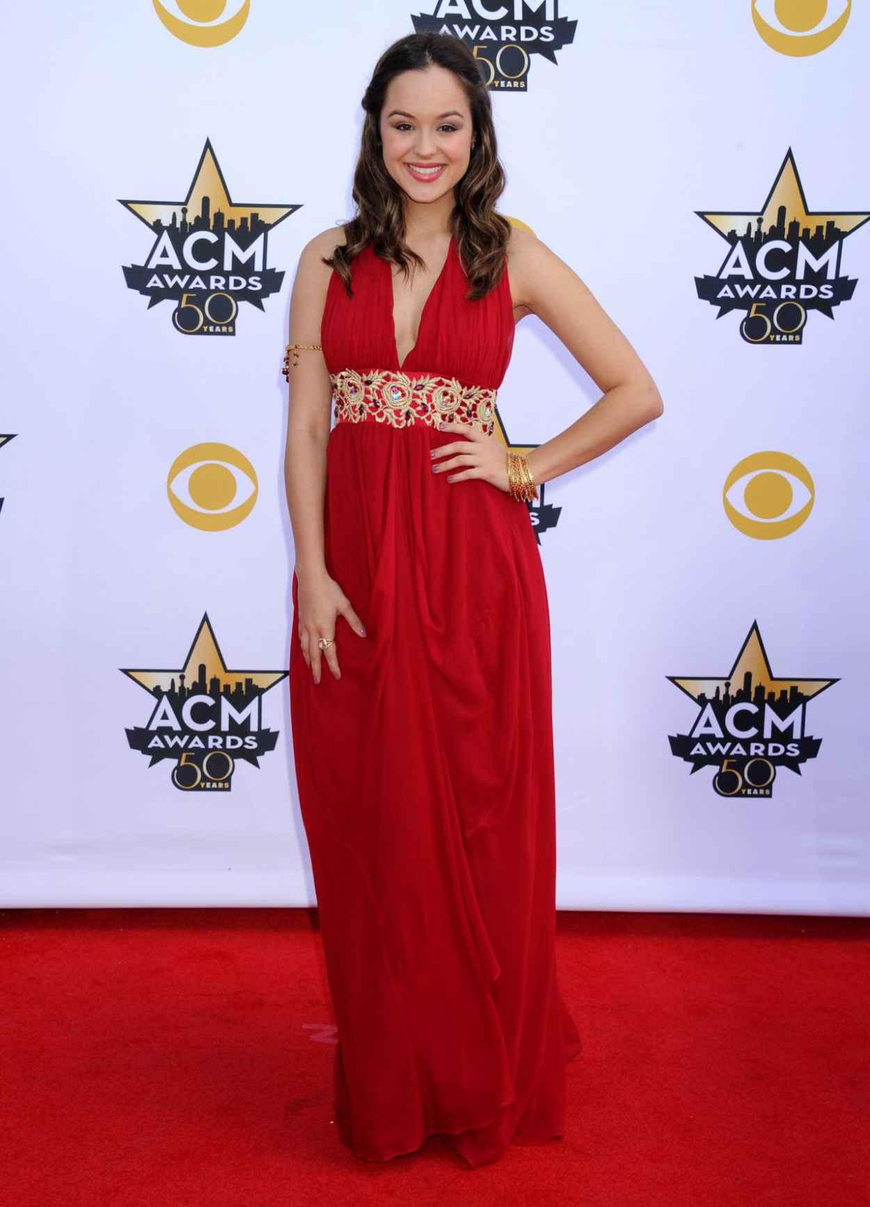 Hayley Orrantia - 2015 Academy Of Country Music Awards in Arlington-2