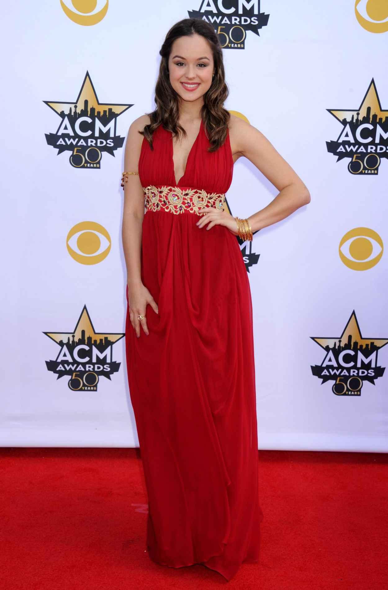 Hayley Orrantia - 2015 Academy Of Country Music Awards in Arlington-3