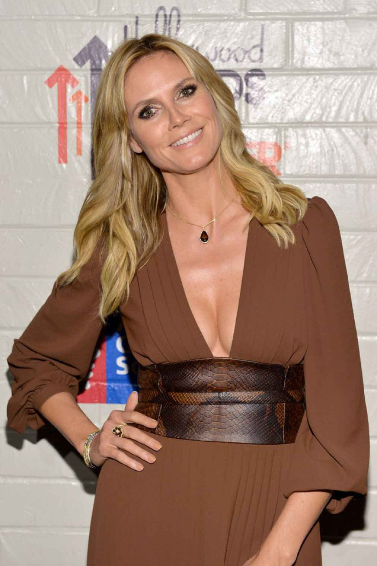 Heidi Klum - Hollywood Stands Up To Cancer Event, January 2015-1