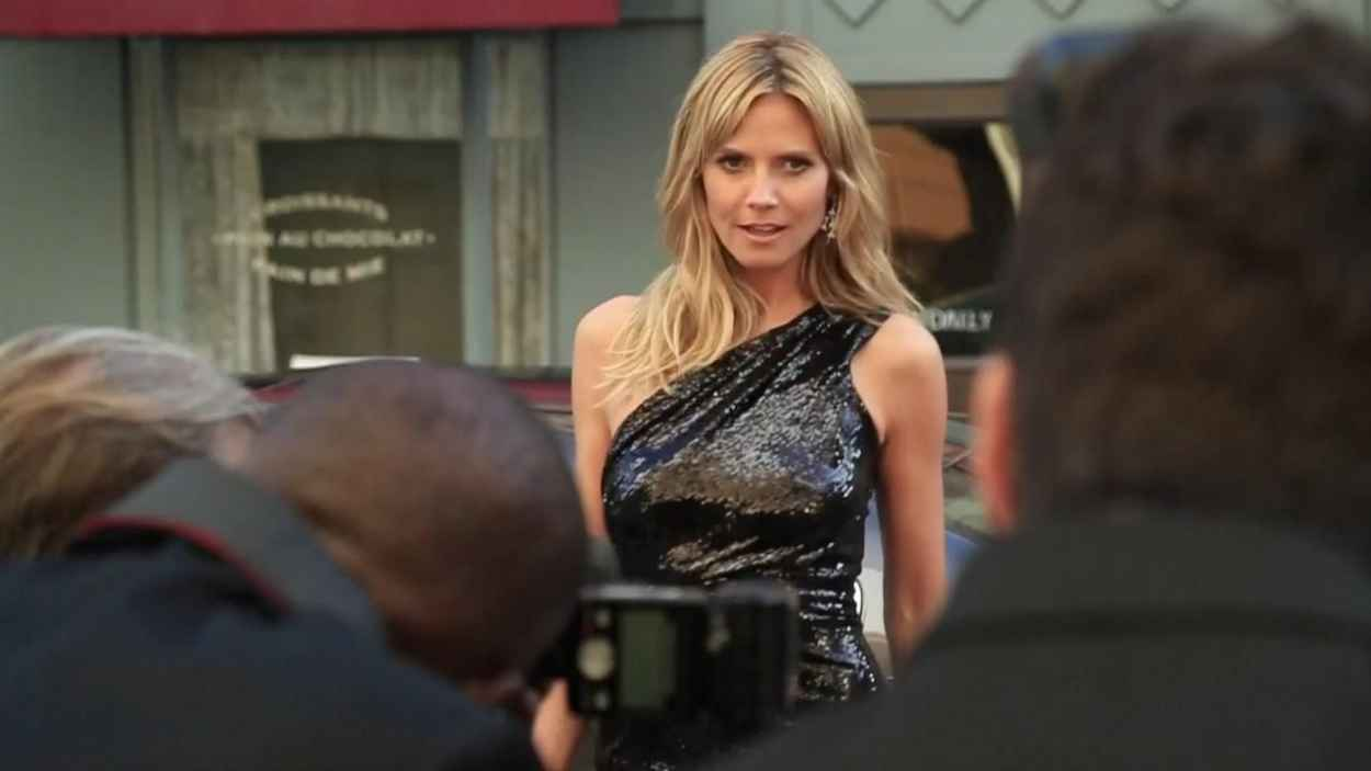 Heidi Klum - Maserati Debuts the All-new Ghibli and 2015 Line-up in 50th Anniversary SI Swimsuit Issue-1