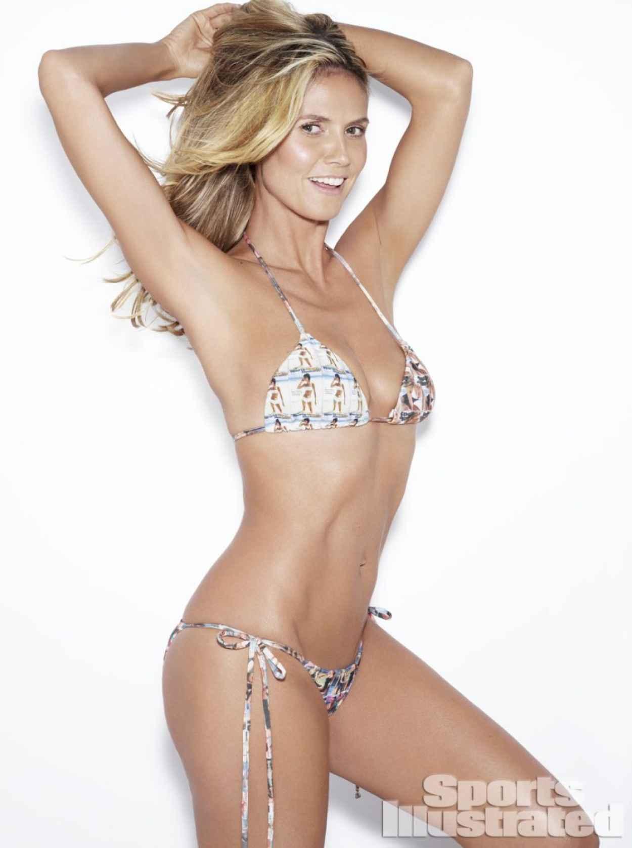 Heidi Klum - Sports Illustrated Swimwear Photoshoot 2015-1