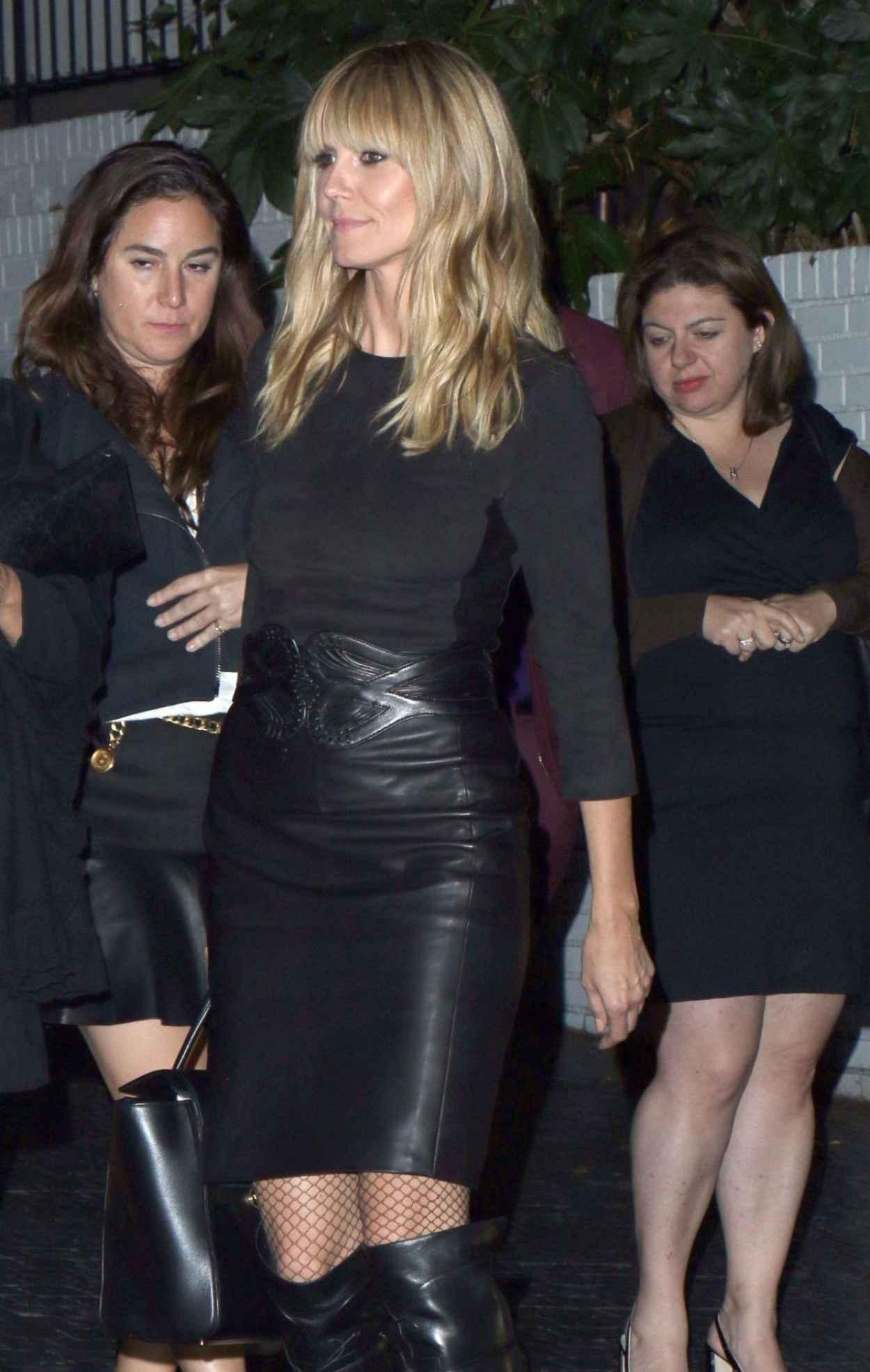 Heidi Klum - The annual Midnight Grammy Brunch at Lure Nightclub in Hollywood, January 2015-1