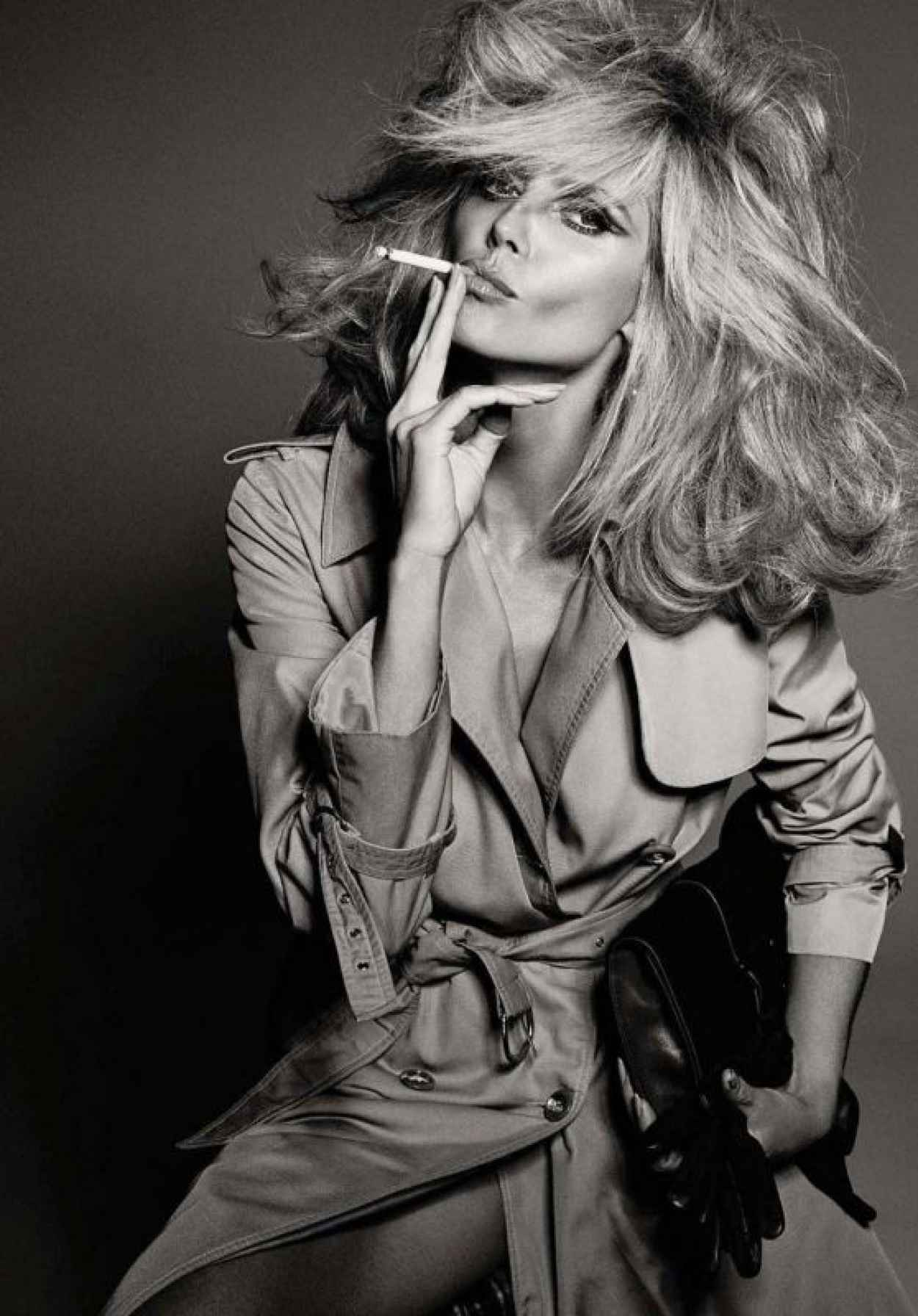 Heidi Klum - Vogue Magazine Italy July 2015-1