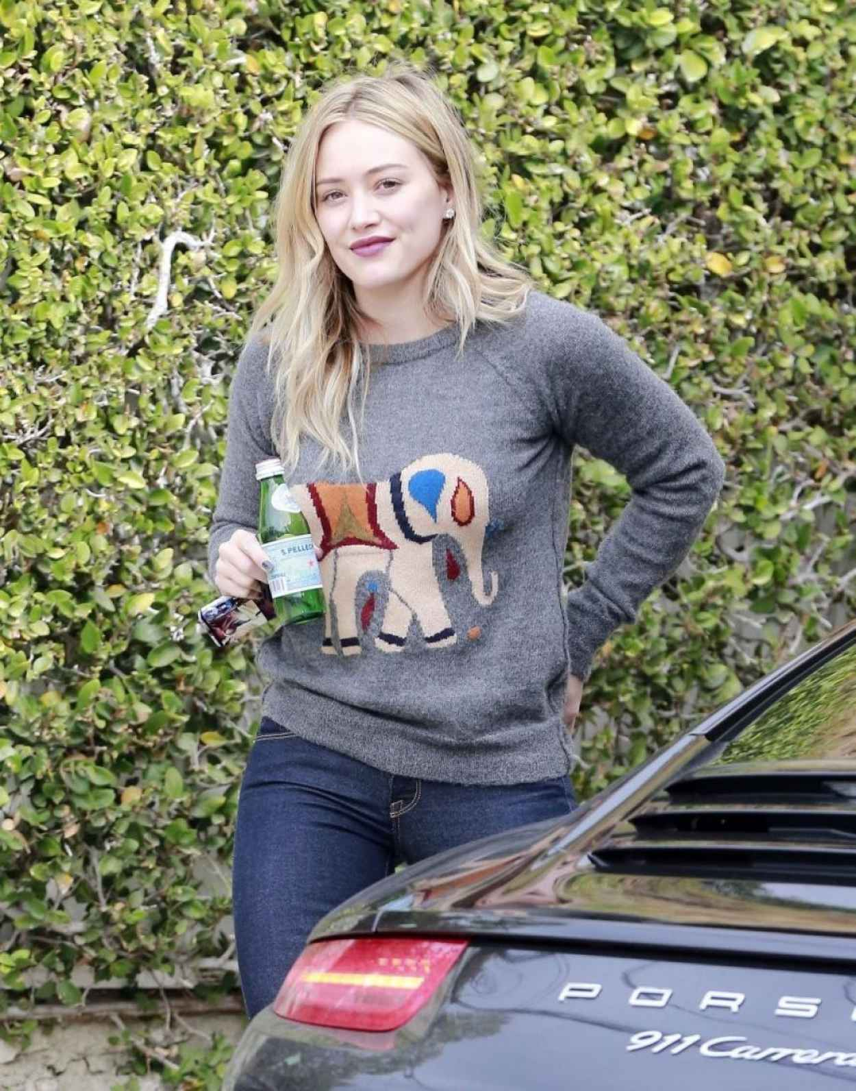 Hilary Duff Casual Style - Out in West Hollywood-1