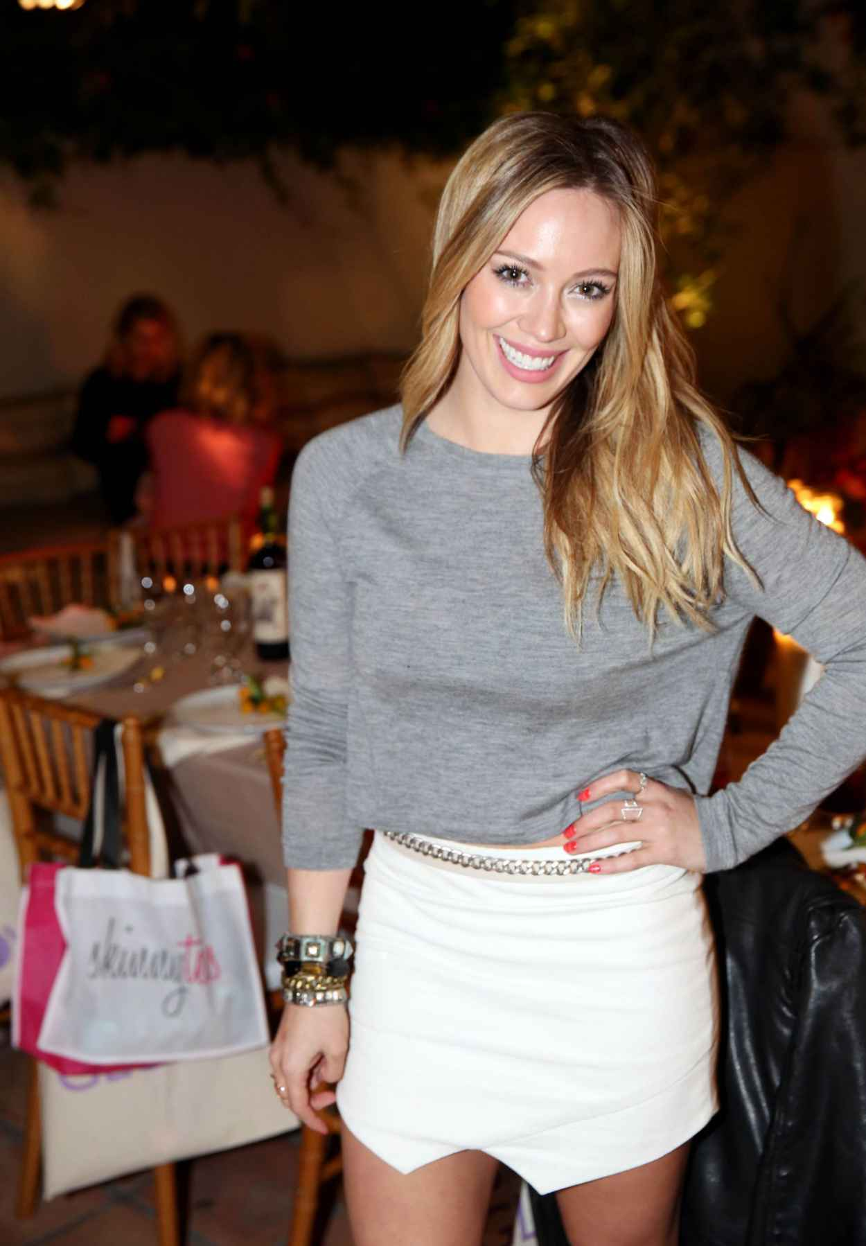 Hilary Duff - How You Glow Launch in West Hollywood - January 2015-1