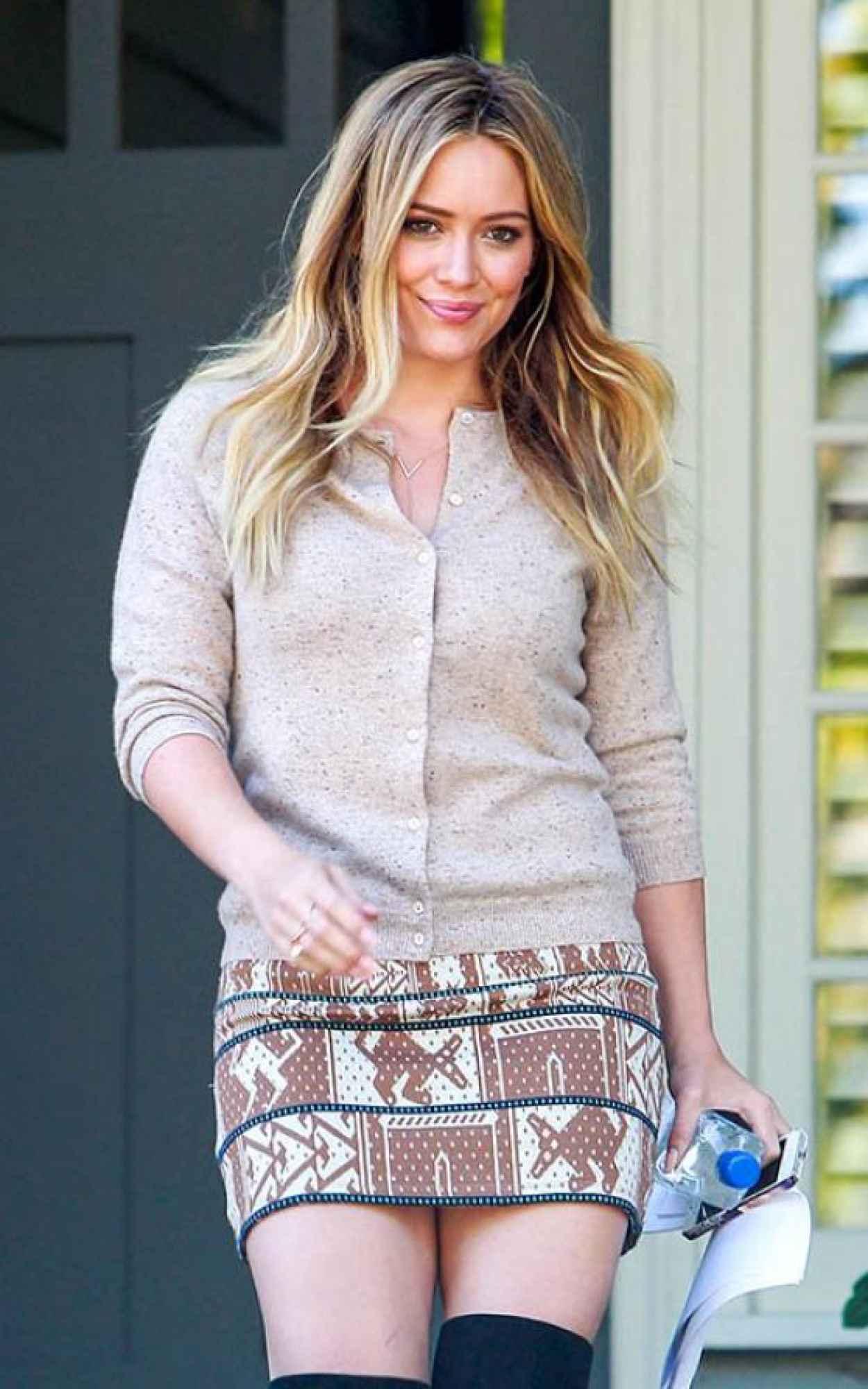 Hilary Duff Photos, Beverly Hills October 2015-1