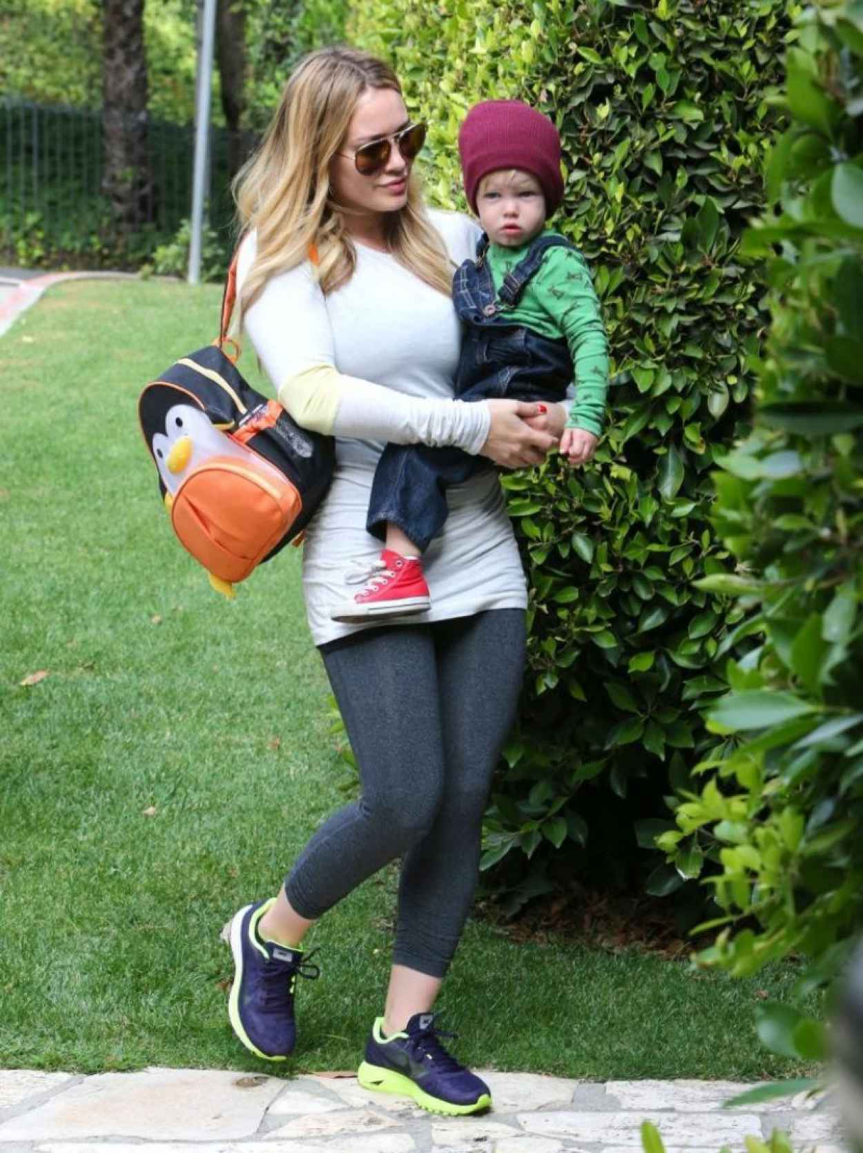 Hilary Duff Street Style - Out in Beverly Hills-1