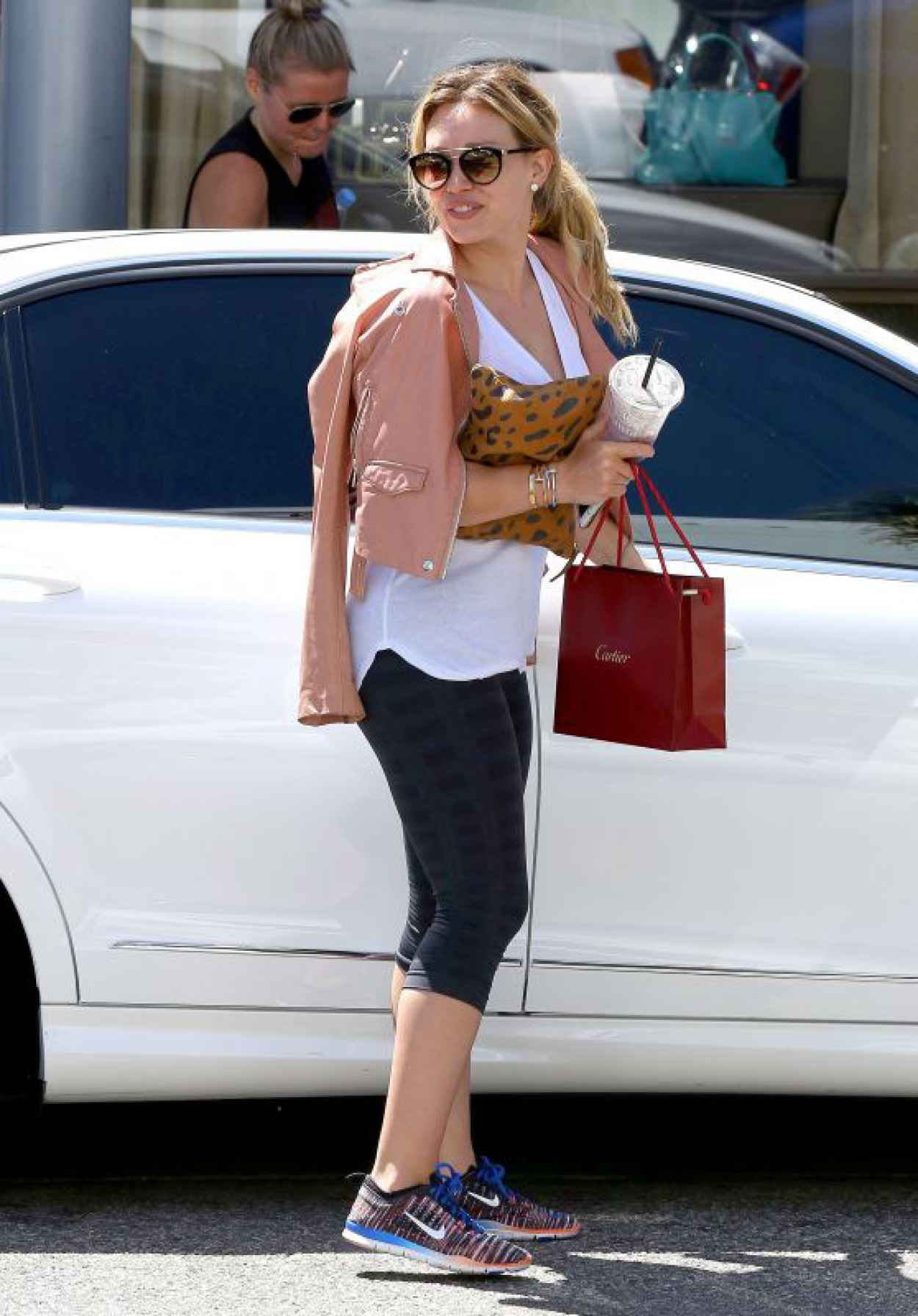 Hilary Duff Style - Shopping in Beverly Hills, July 2015-1
