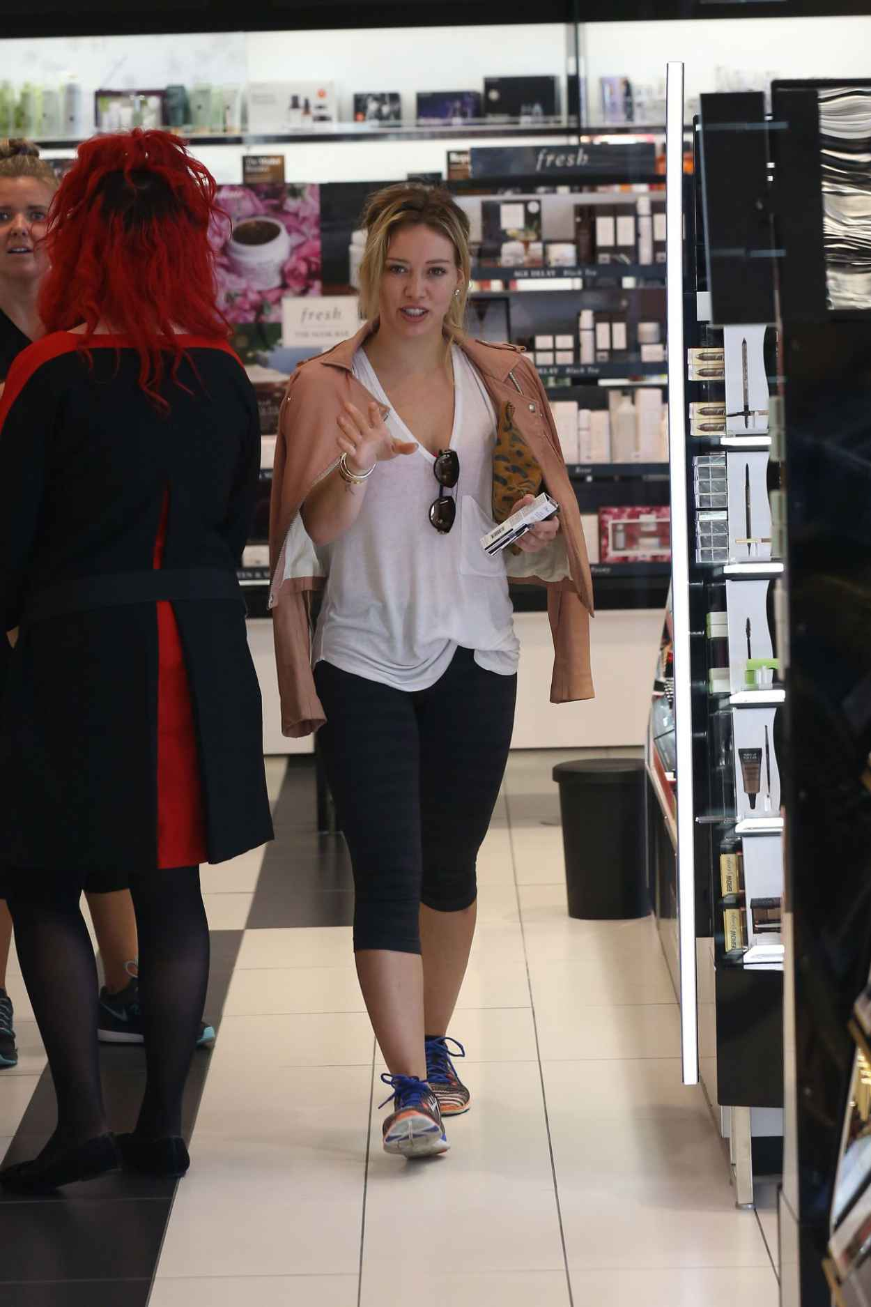 Hilary Duff Style - Shopping in Beverly Hills, July 2015-2