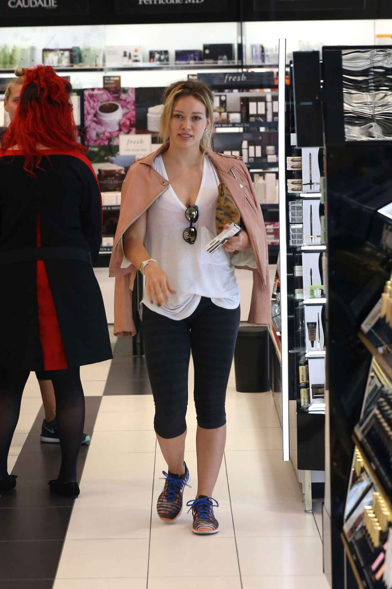 Hilary Duff Style - Shopping in Beverly Hills, July 2015-3