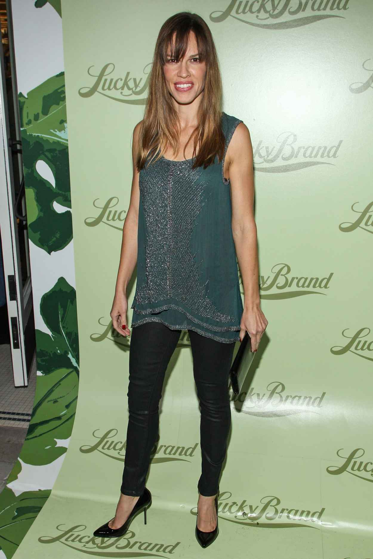 Hilary Swank at Lucky Brand Store Opening in Beverly Hills-1
