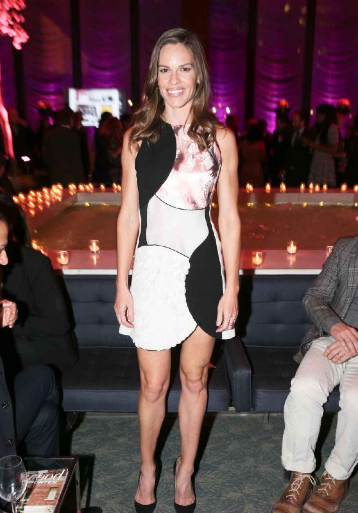 Hilary Swank - The 35 Most Powerful People In Media Celebrated by The Hollywoood Reporter in New York City-1