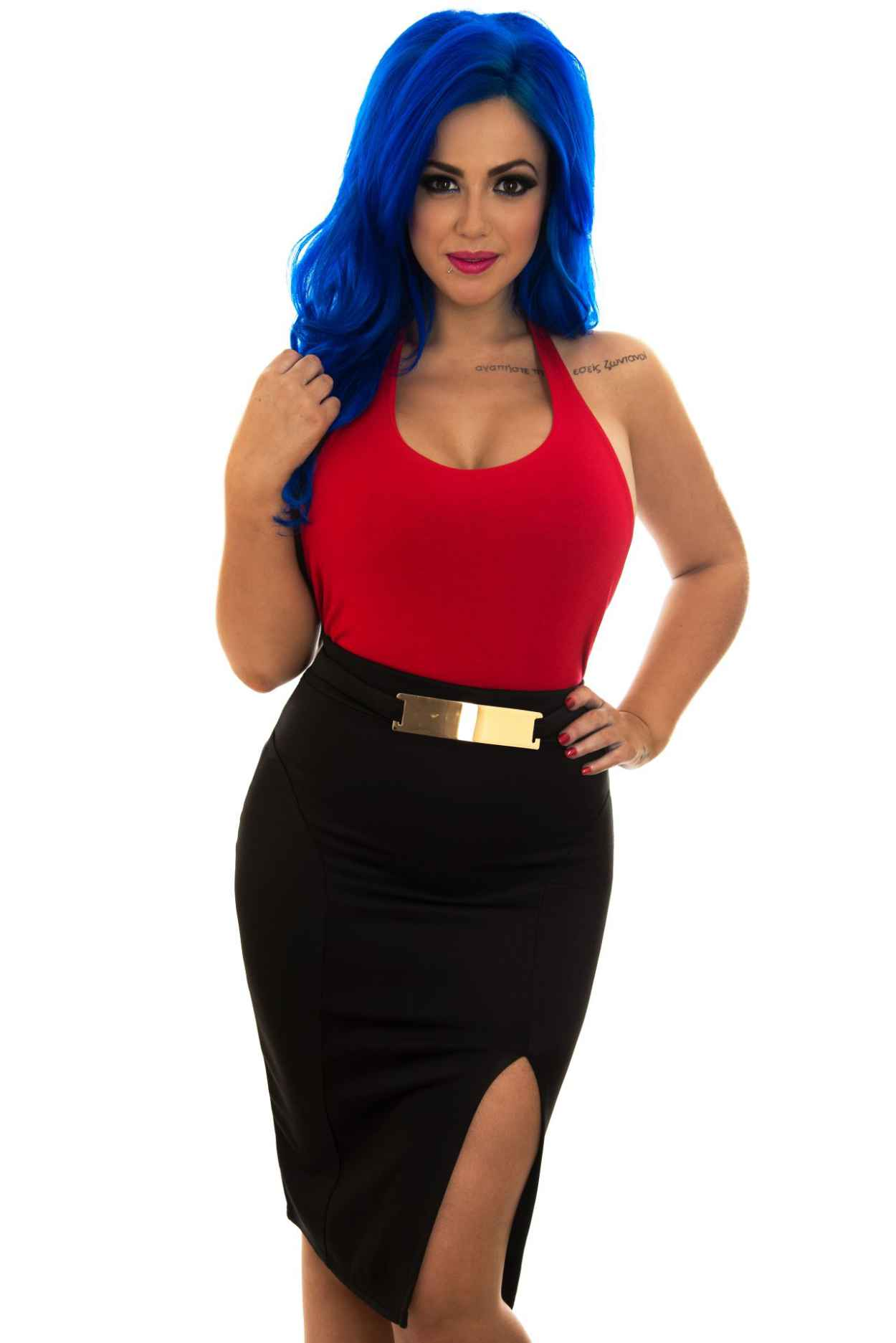 Holly Hagan - Fashion Bible Range Photoshoot-5
