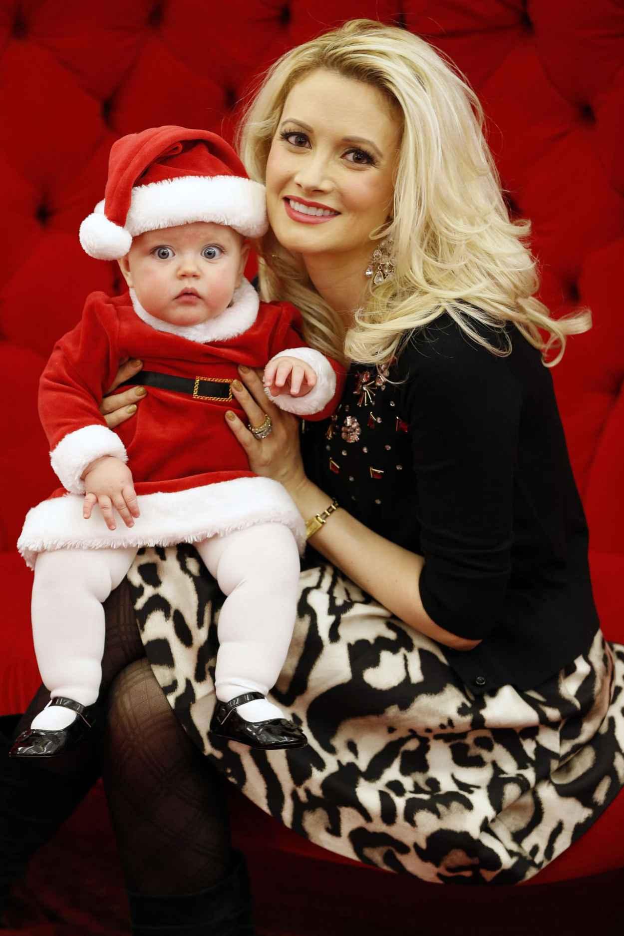 Holly Madison - Christmas Santa Shoot - December 2015-1