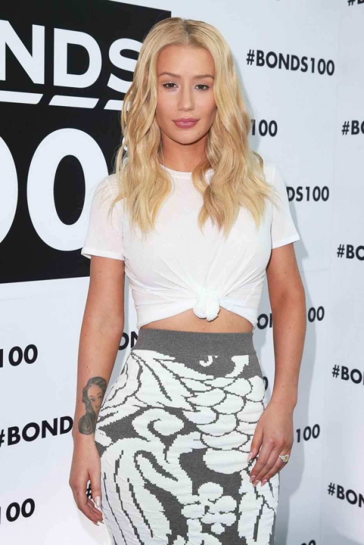 Iggy Azalea - Bonds 100th Birthday Celebrations in Sydney-1