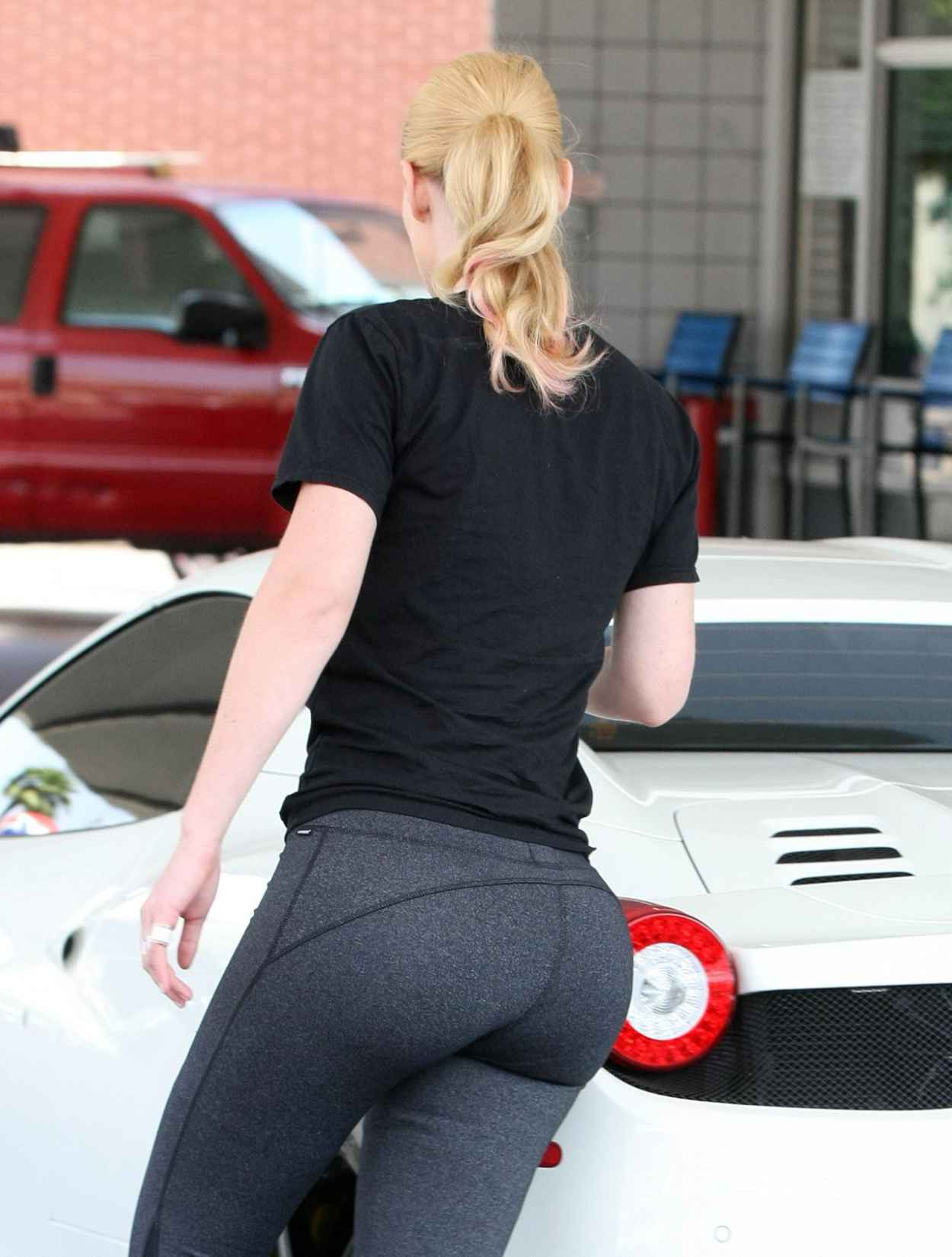 Iggy Azalea Booty in Tights - Out in Beverly Hills, July 2015-4