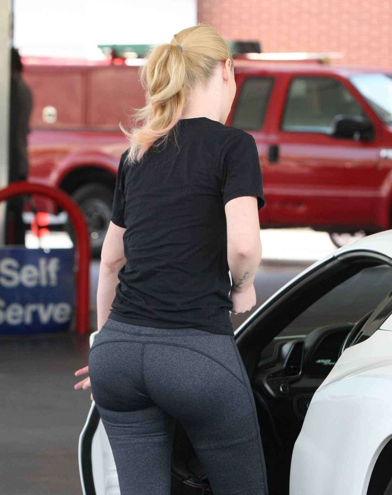 Iggy Azalea Booty in Tights - Out in Beverly Hills, July 2015-5