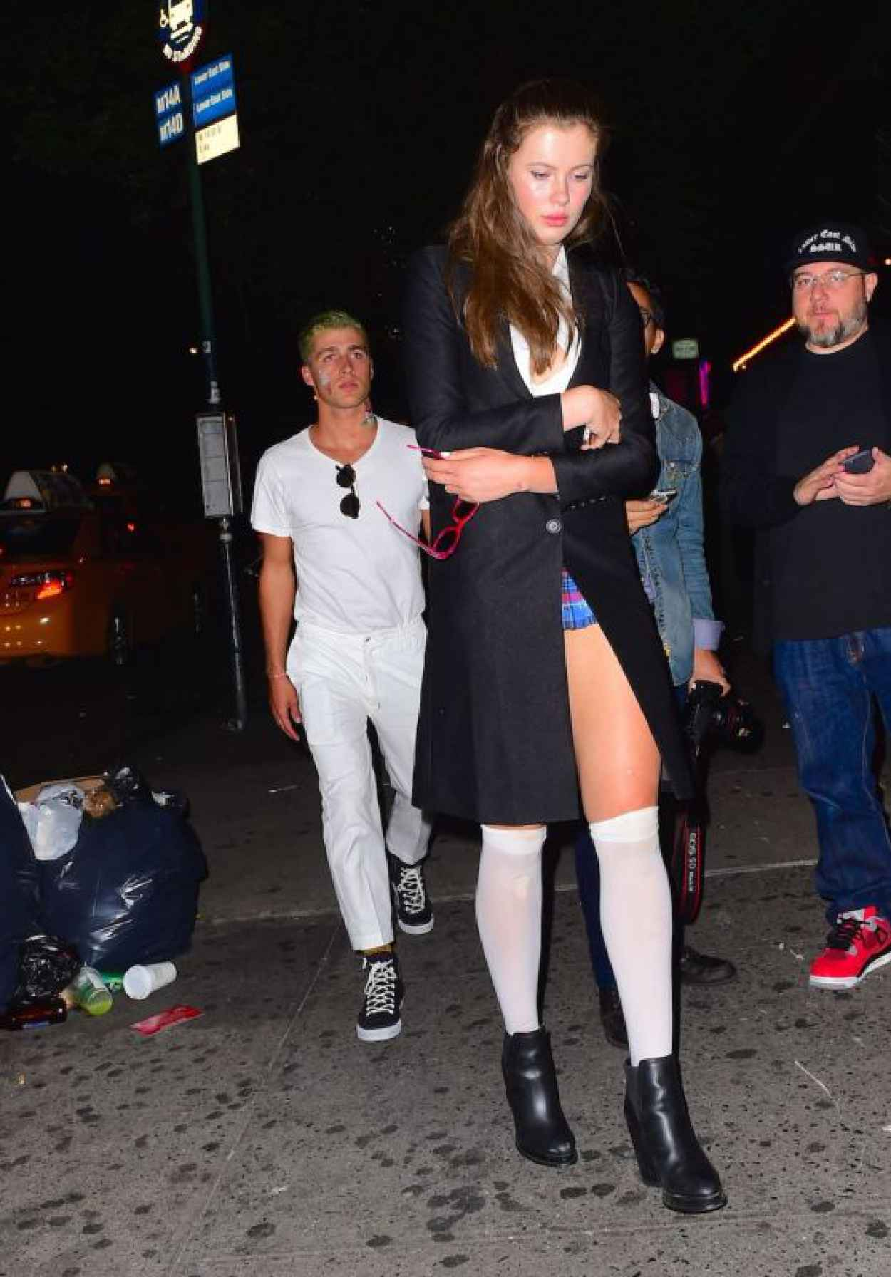Ireland Baldwin Night Out Style - Leaving a Club in New York, September 2015-1