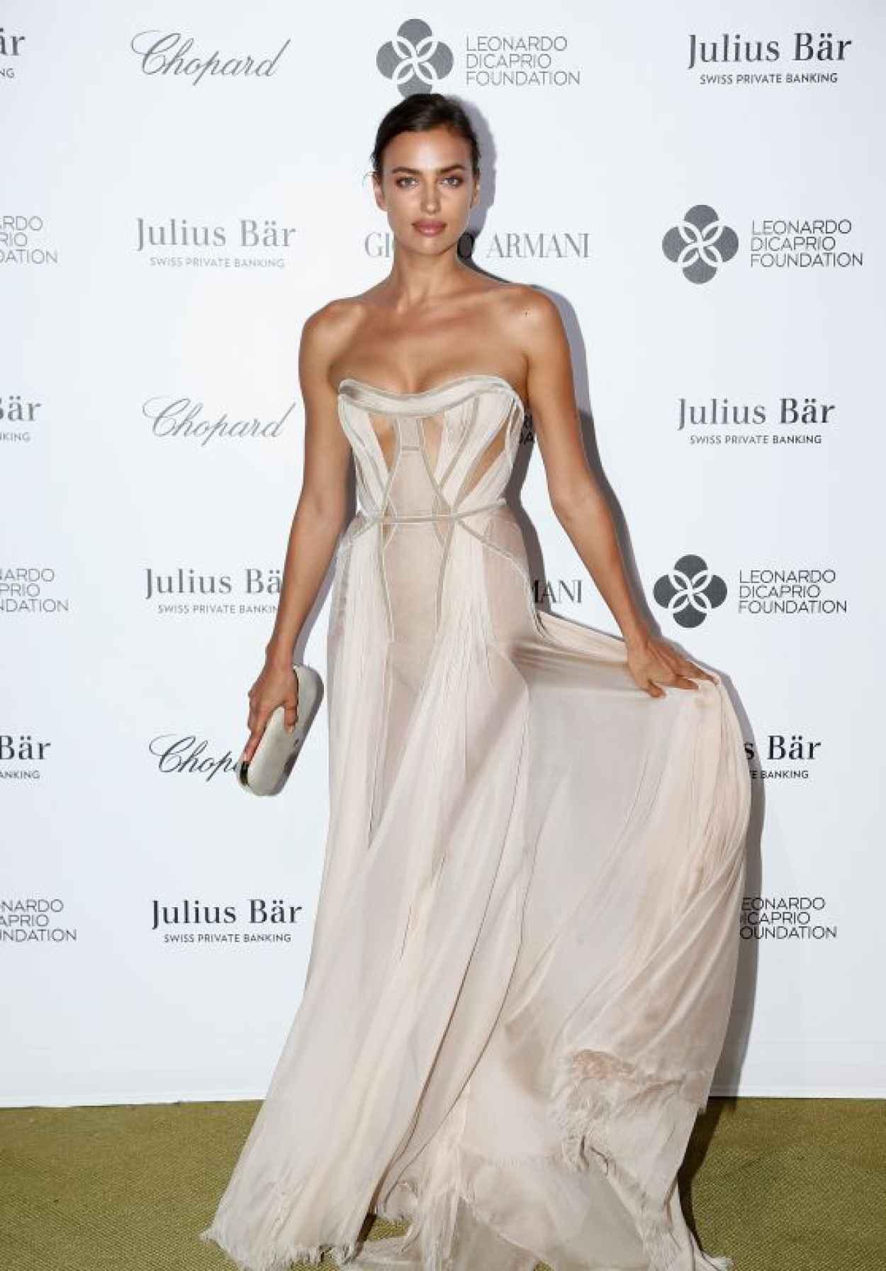 Irina Shayk - 2015 Leonardo DiCaprio Foundation Saint-Tropez Gala-1