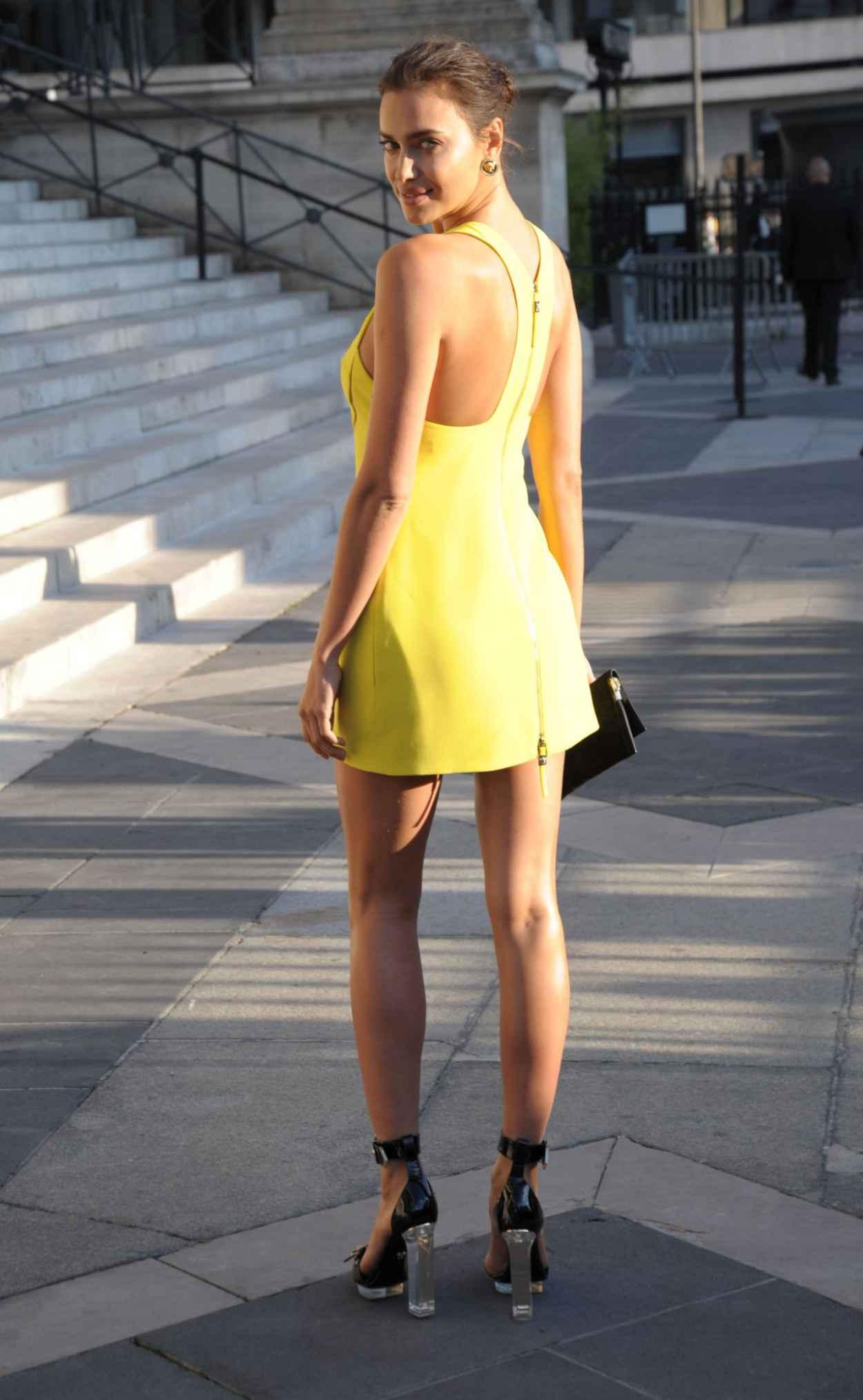 Irina Shayk - Atelier Versace Show - Paris Fashion Week, July 2015-3