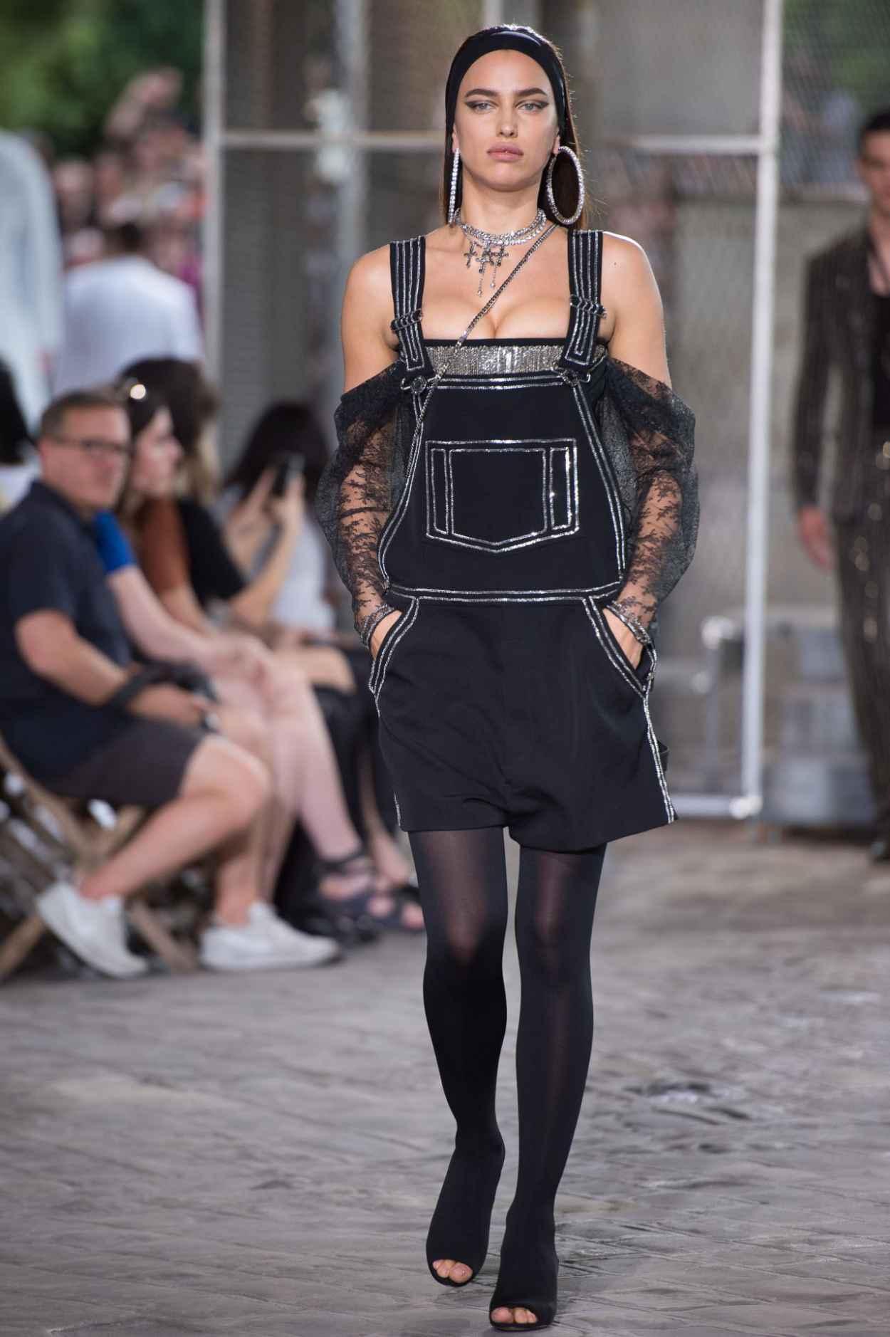 Irina Shayk - Givenchy Fashion Show in Paris, June 2015-4