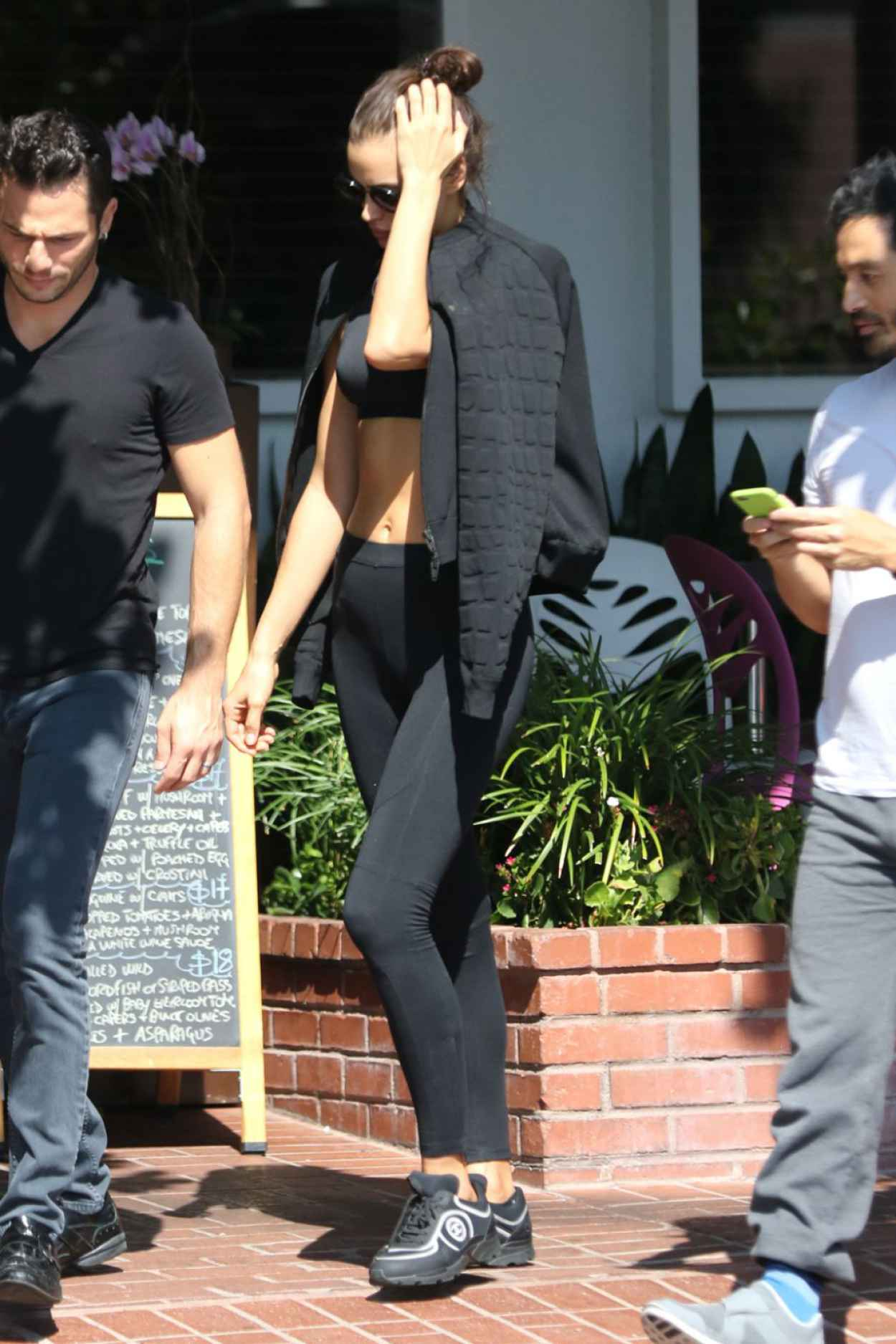 Irina Shayk - Having Lunch at Fred Segal in West Hollywood, October 2015-3