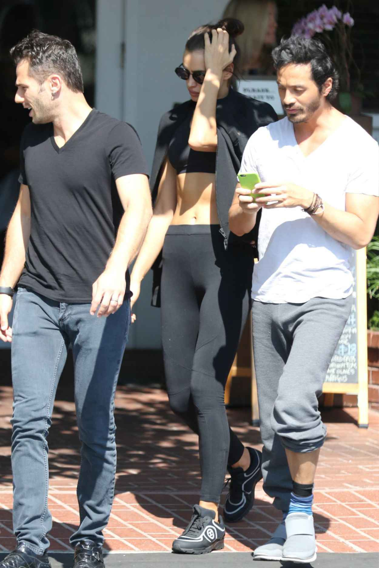 Irina Shayk - Having Lunch at Fred Segal in West Hollywood, October 2015-5